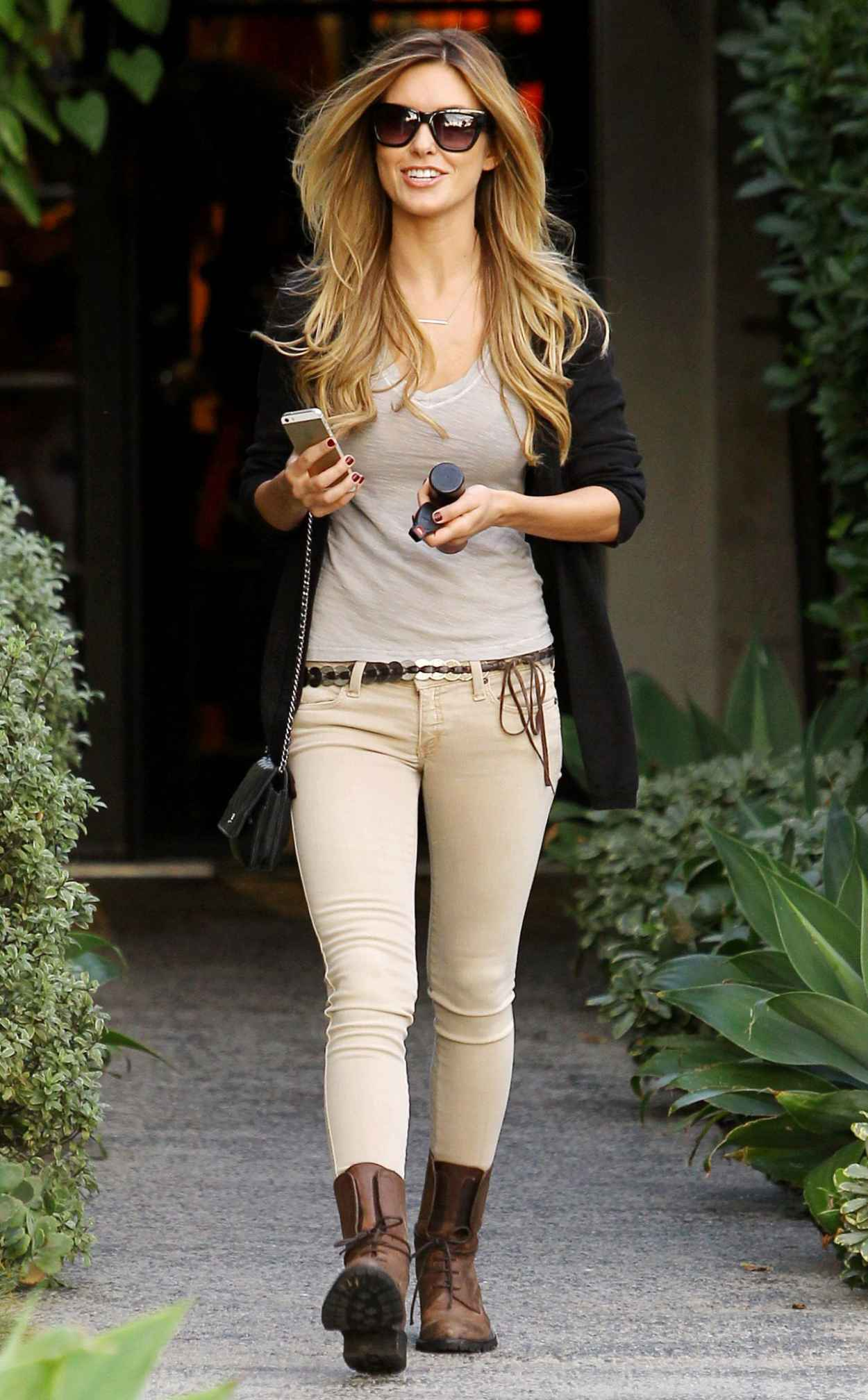 Audrina Patridge Street Style – Leaving Andy LeCompte ...
