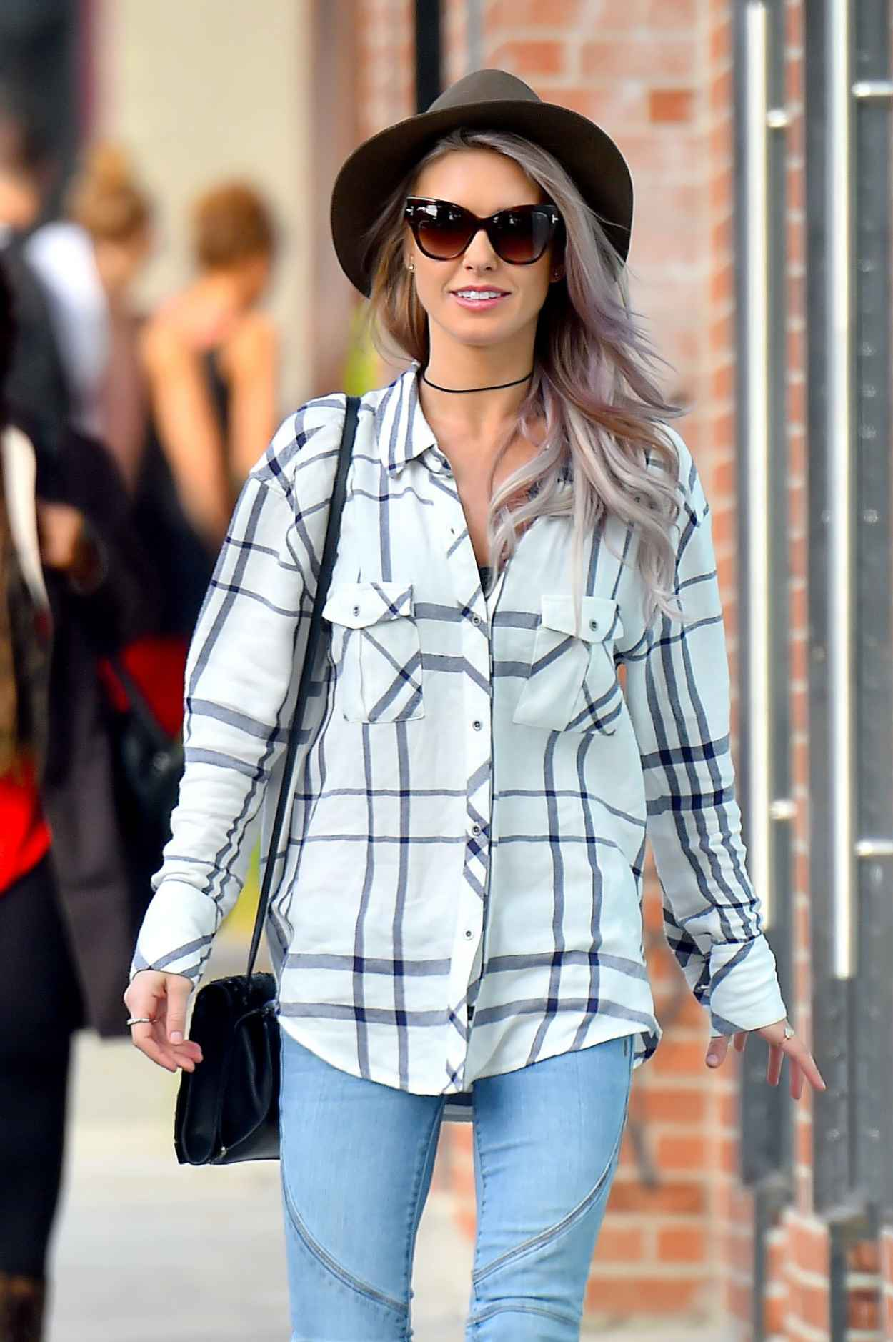 Audrina Patridge Street Style – Out in Hollywood, January ...