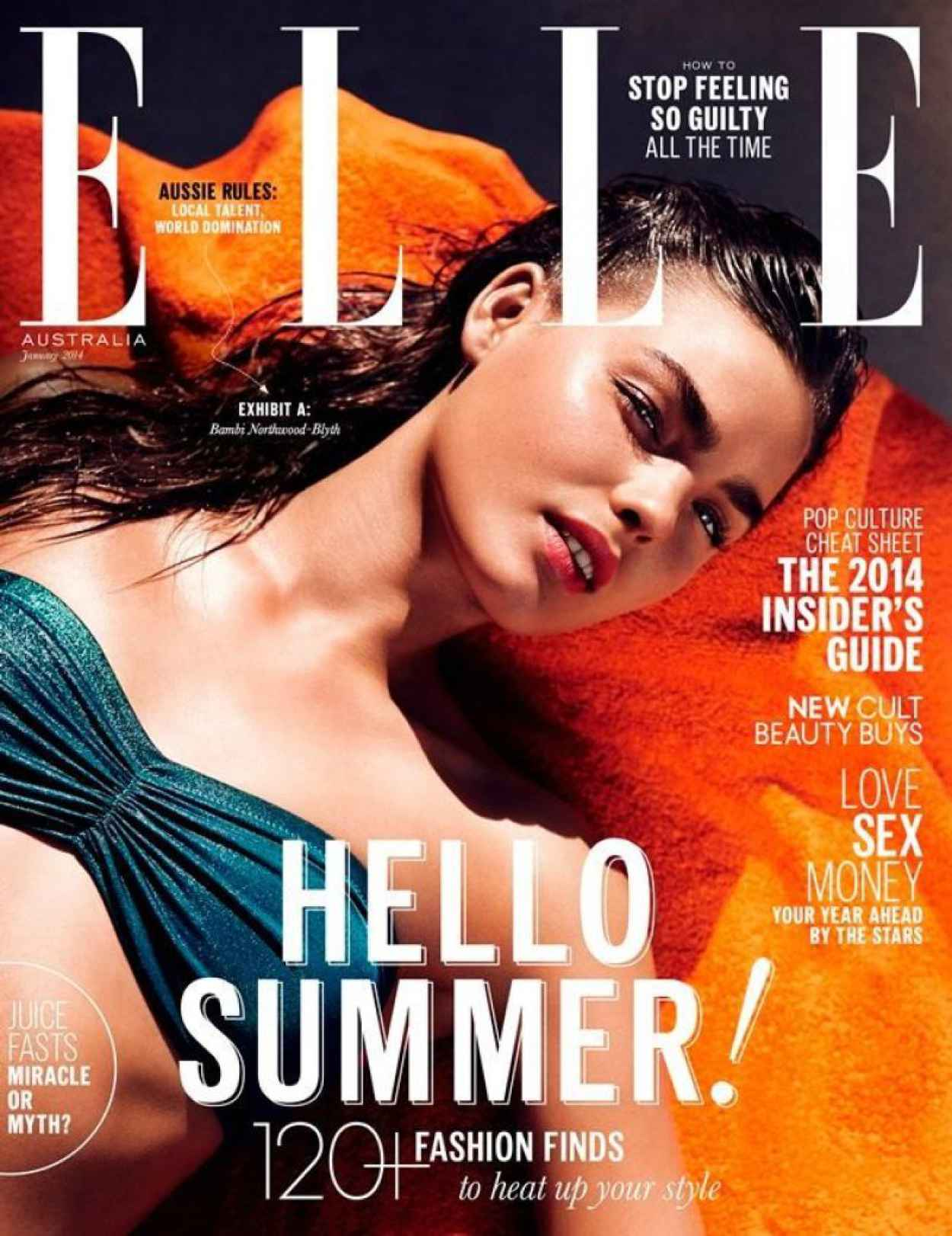 Bambi Northwood-Blyth - ELLE Magazine (Australia) - January 2015 Issue-1