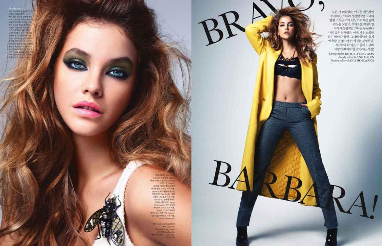 Barbara Palvin - ELLE Magazine (Korea) - October 2015 Issue-1