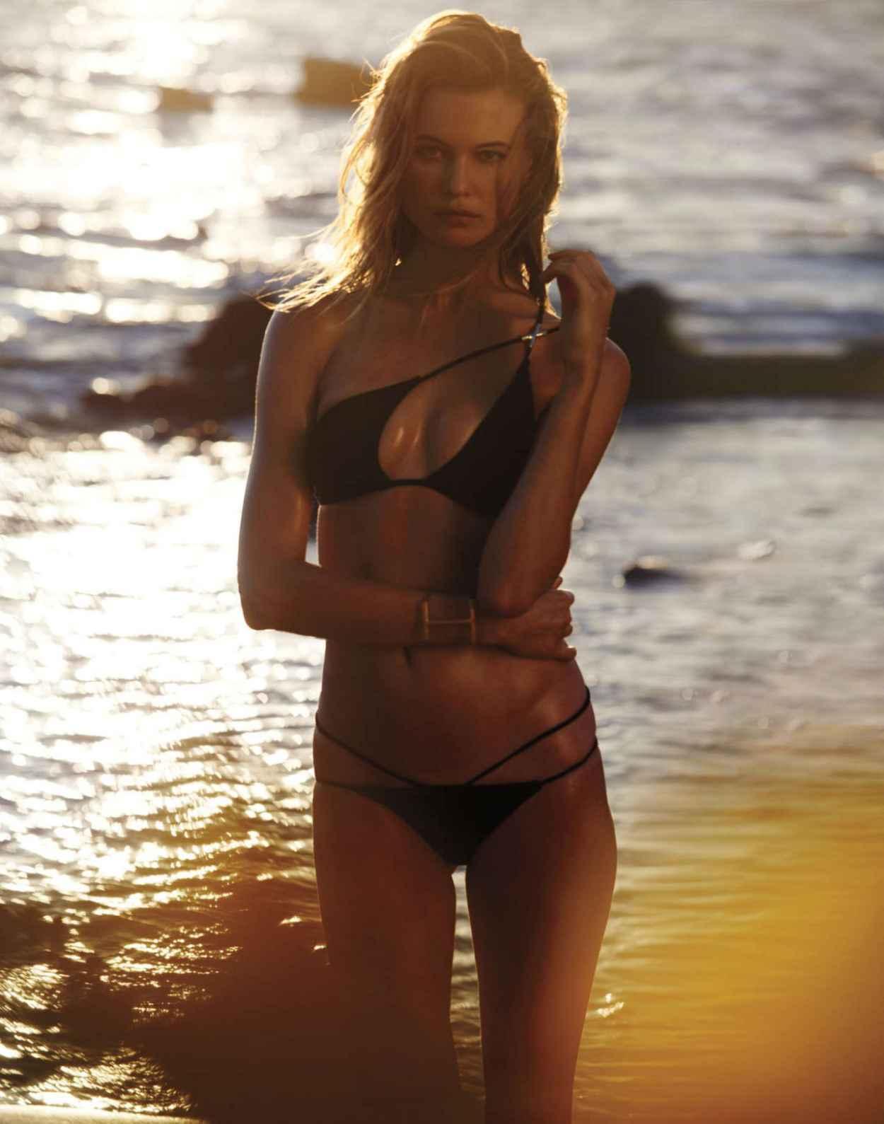 Behati Prinsloo Bikini Pics - Victoria-s Secret Swim Catalog 2015-2