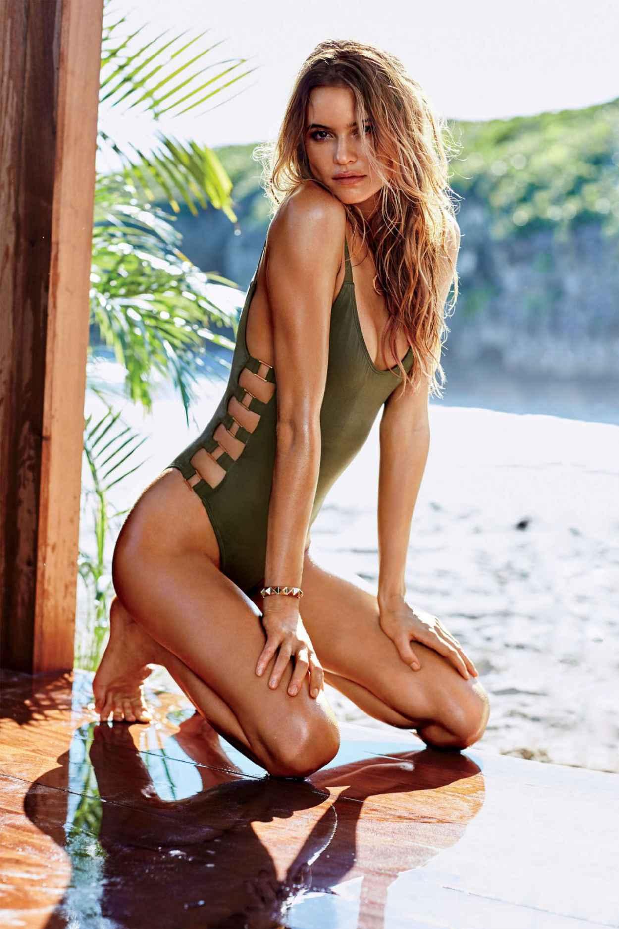 Behati Prinsloo Bikini Pics - Victoria-s Secret Swim Catalog 2015-5
