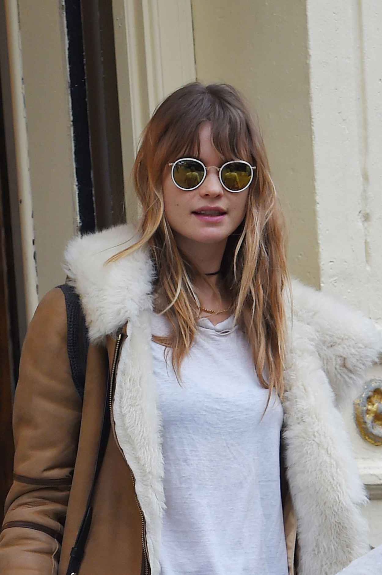 Behati Prinsloo - Out in NYC, March 2015-1