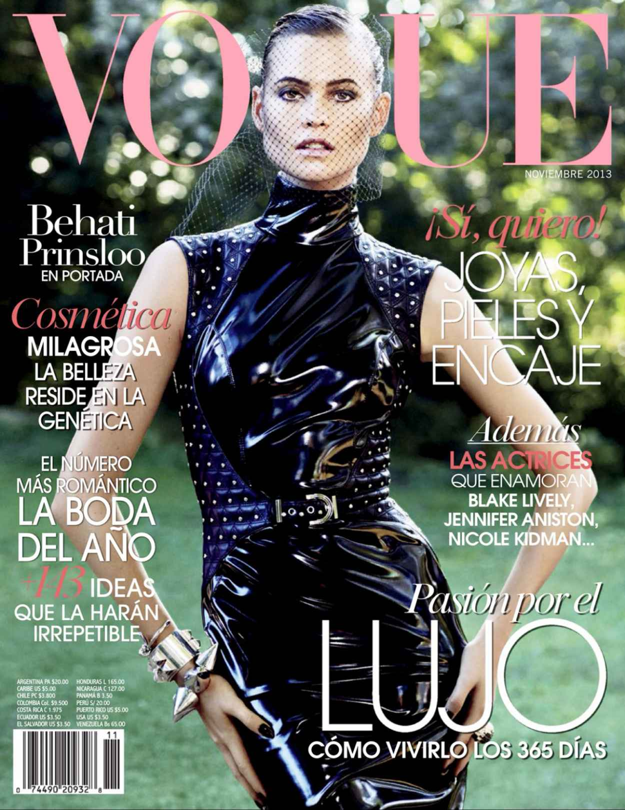 Behati Prinsloo - VOGUE Magazine (Mexico) - November 2015 Issue-2