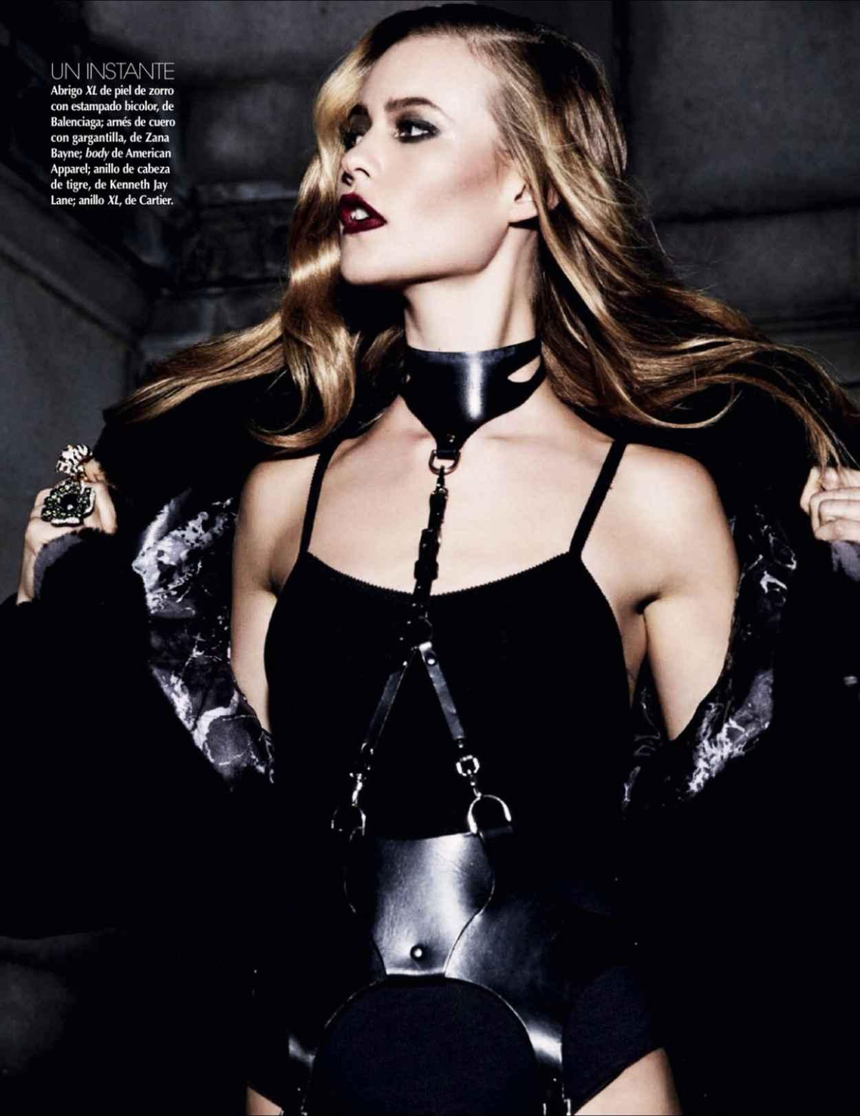 Behati Prinsloo - VOGUE Magazine (Mexico) - November 2015 Issue-1