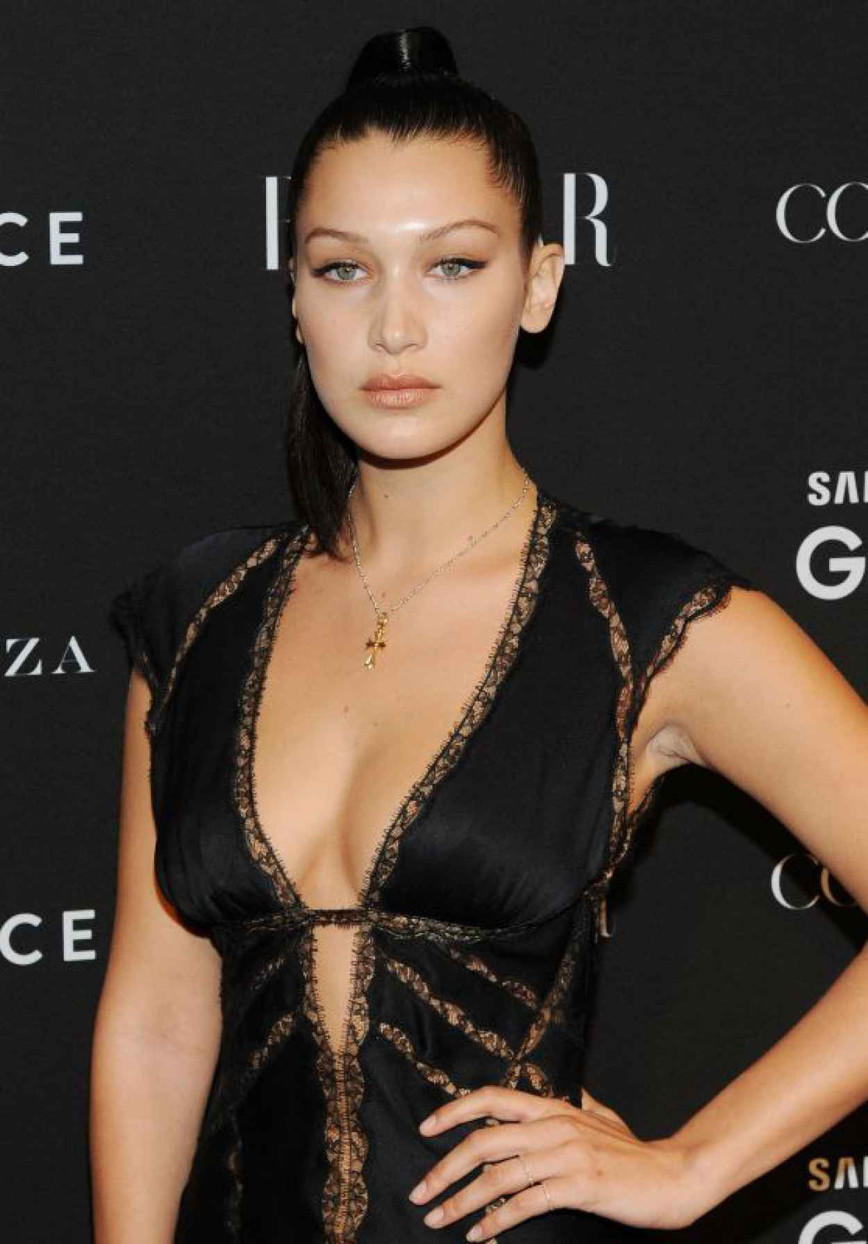 Bella Hadid - 2015 Harper-s BAZAAR ICONS Event in New York City-1