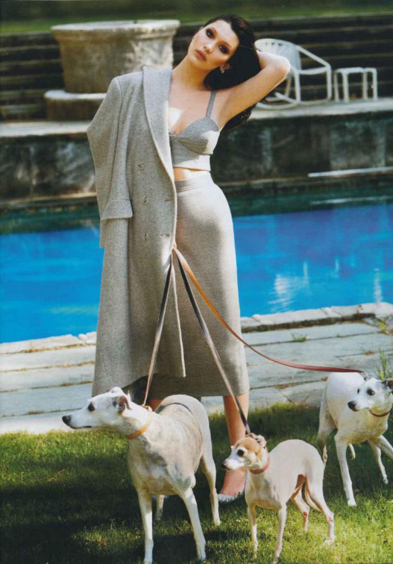 Bella Hadid - Harpers Bazaar Magazine USA August 2015-1