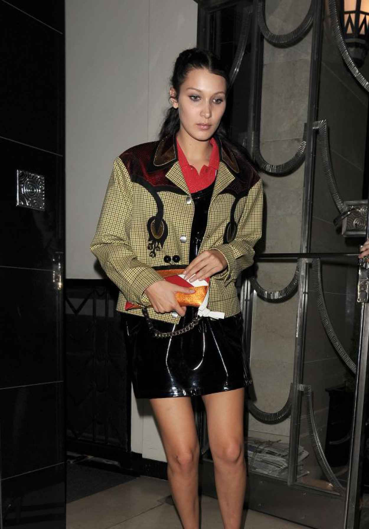 Bella Hadid - Love Magazine Party at Lou Lous in London, September 2015-1