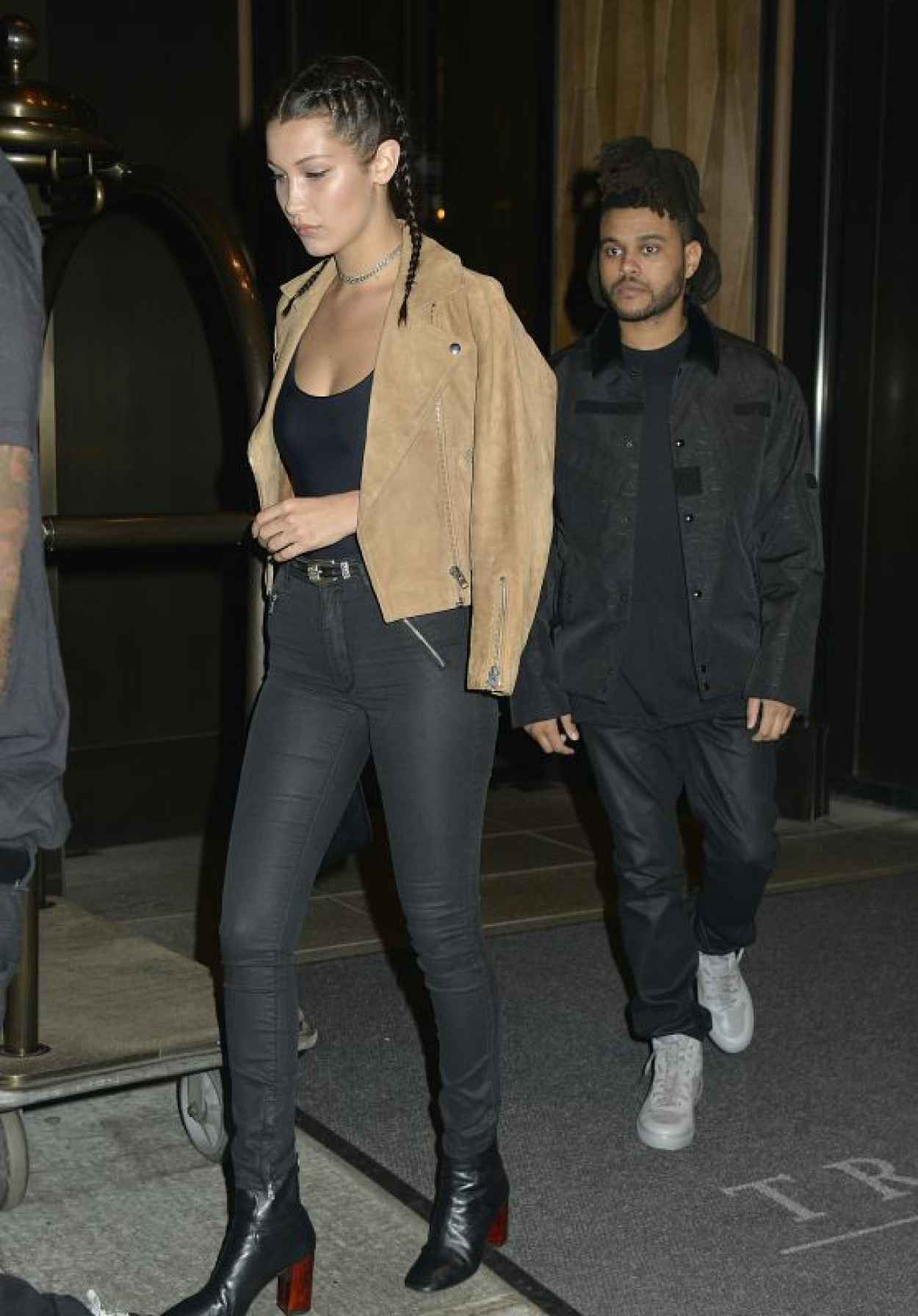 Bella Hadid Night Out Style - New York City, September 2015-1
