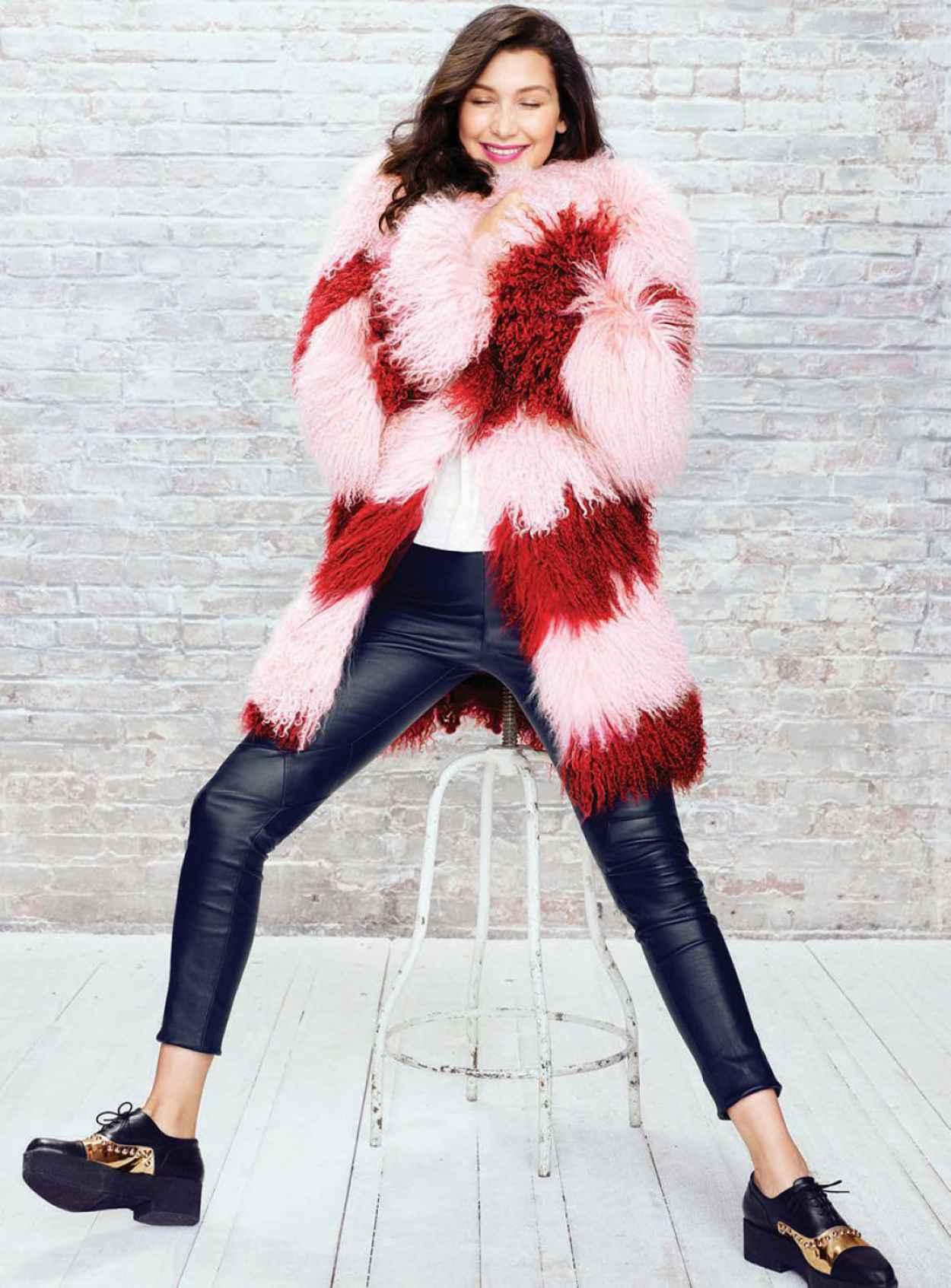 Bella Hadid - Photoshoot for Seventeen Magazine November 2015-3