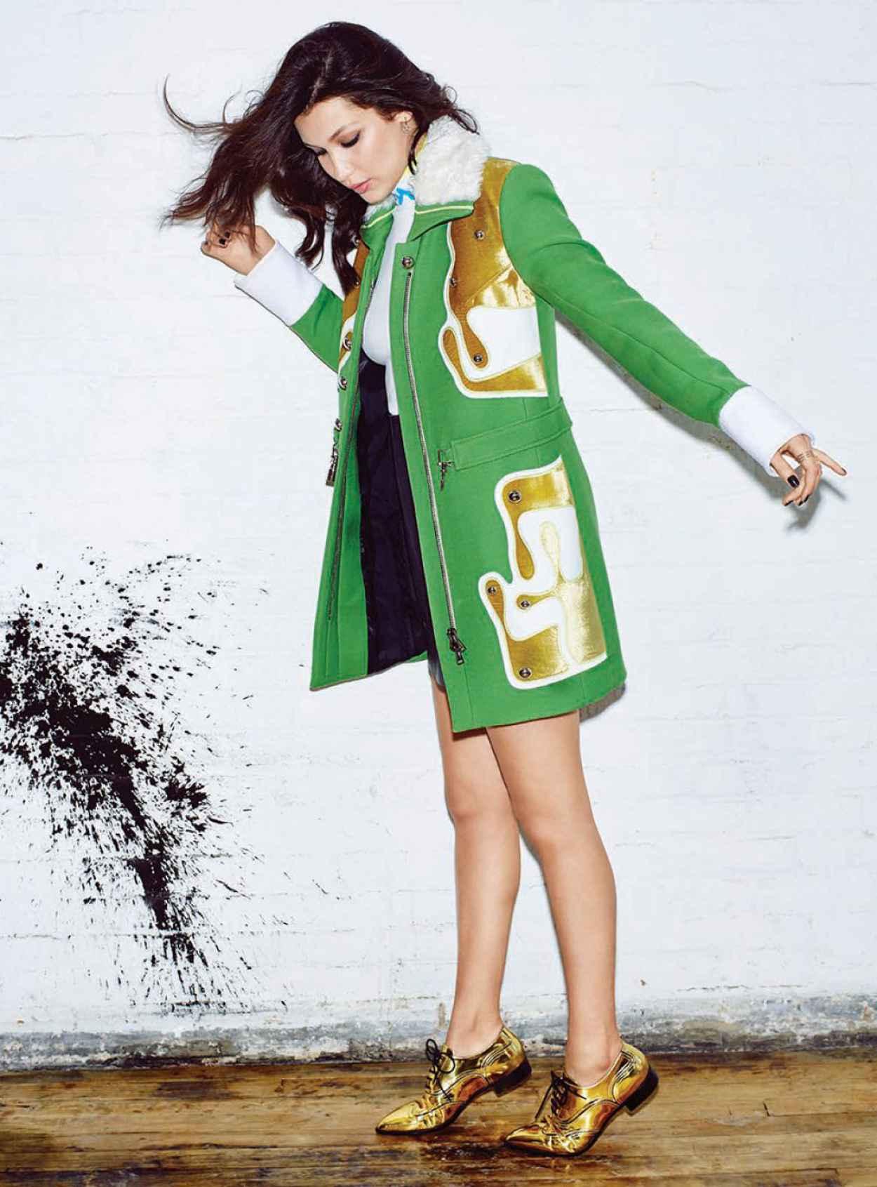 Bella Hadid - Photoshoot for Seventeen Magazine November 2015-5