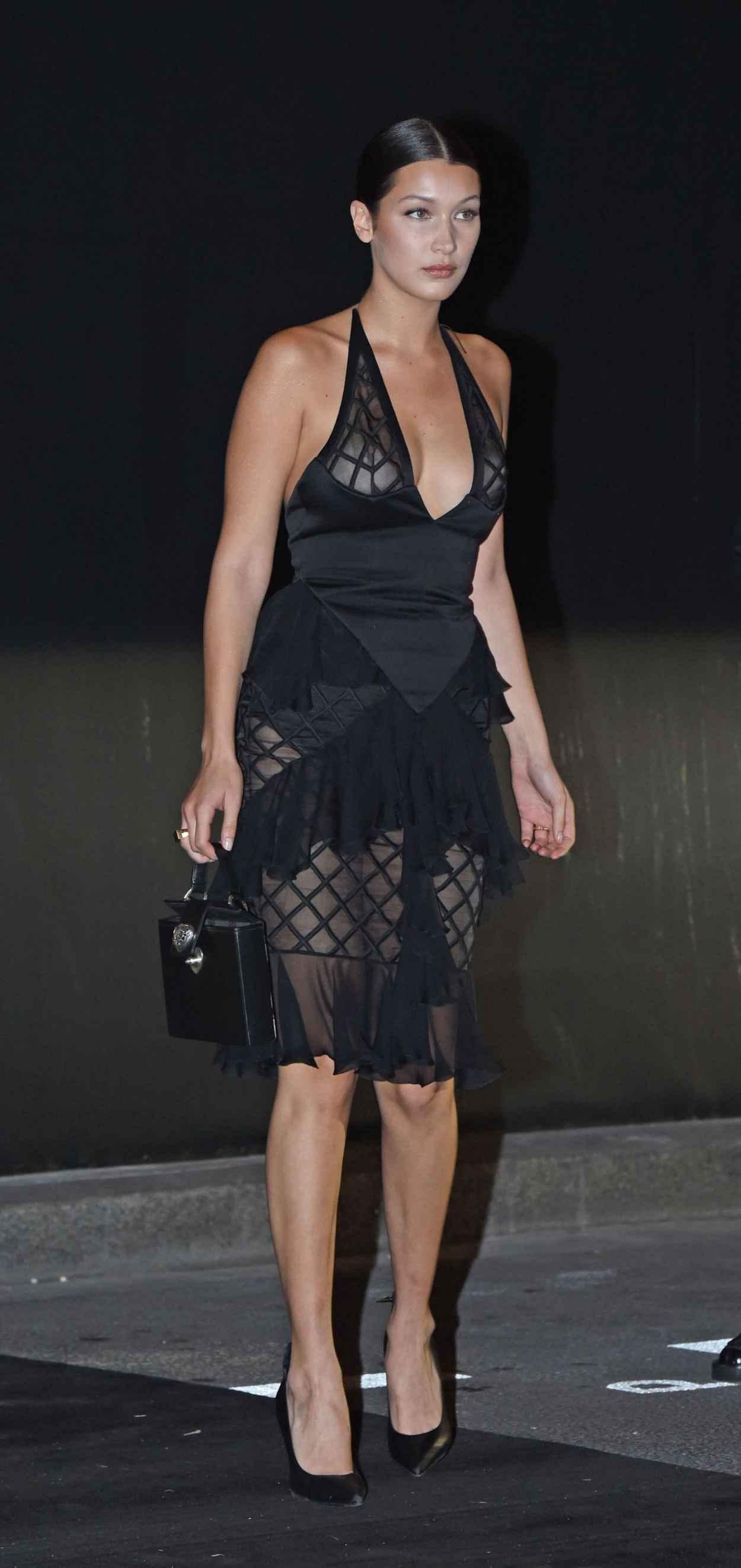 Bella Hadid - Vogue 95th Anniversary Party in Paris-2