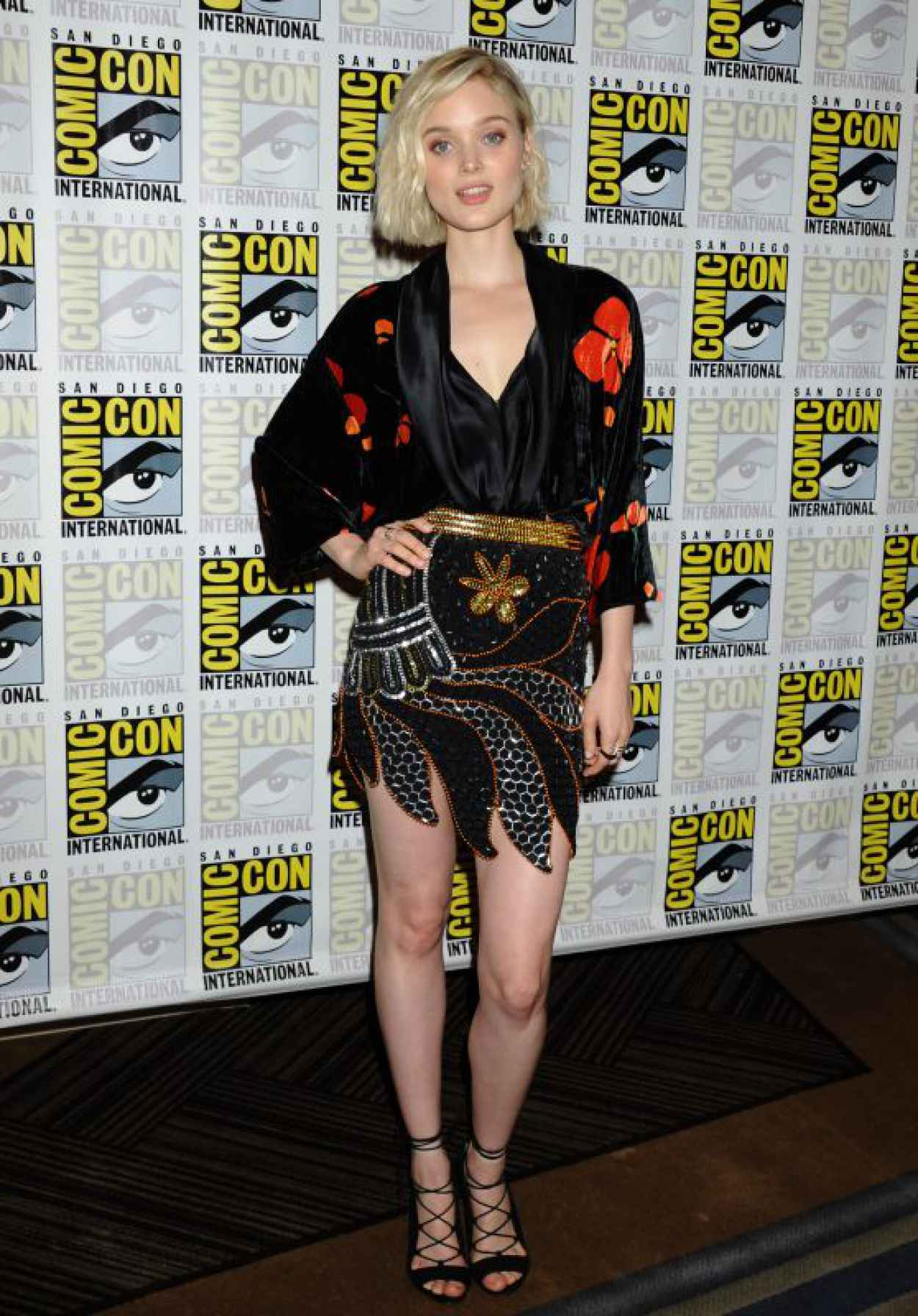 Bella Heathcote - Pride and Prejudice and Zombies Press Day at Comic-Con International in San Diego-1