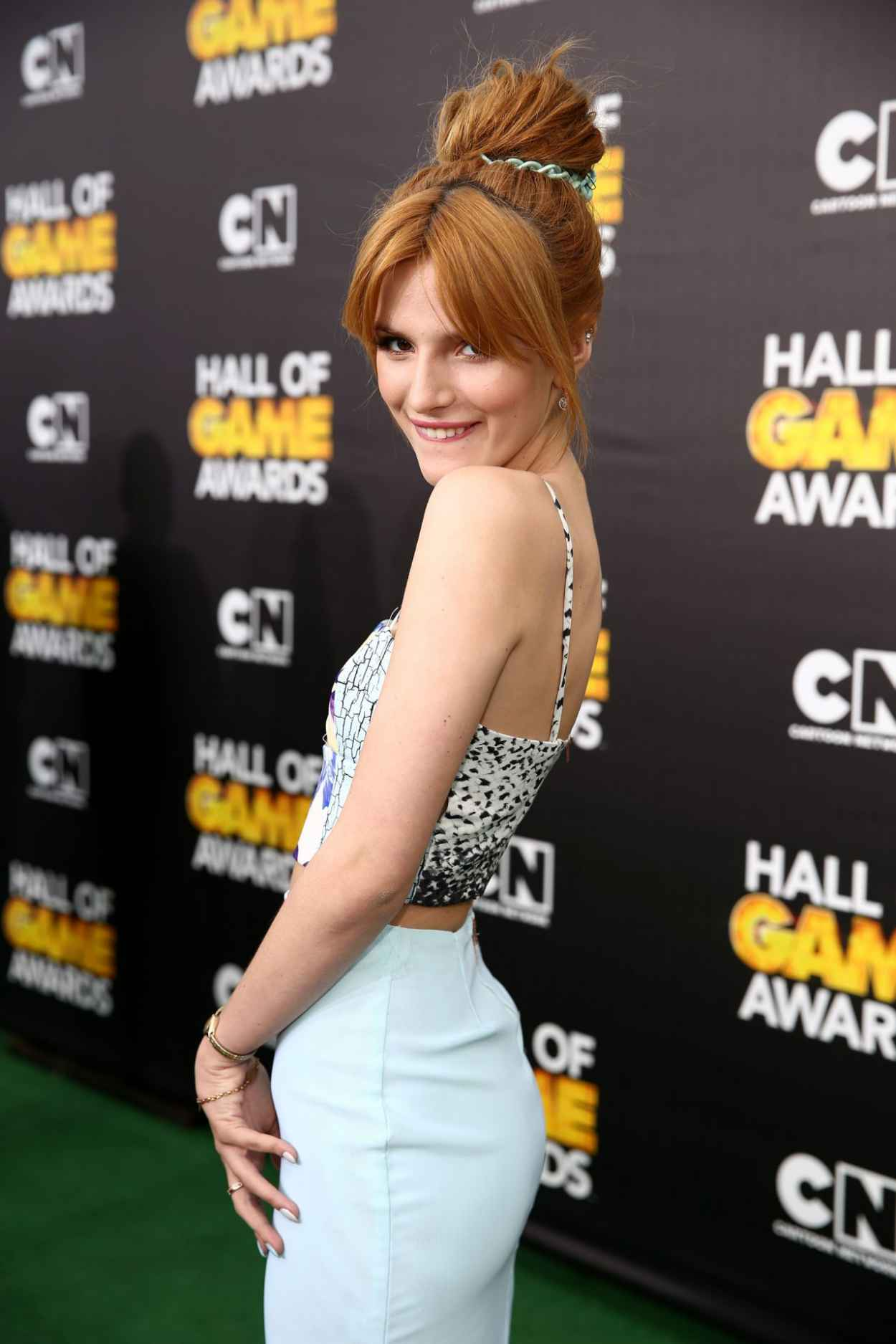 Bella Thorne - 4th Annual Hall of Game Awards in Santa Monica - February 2015-1