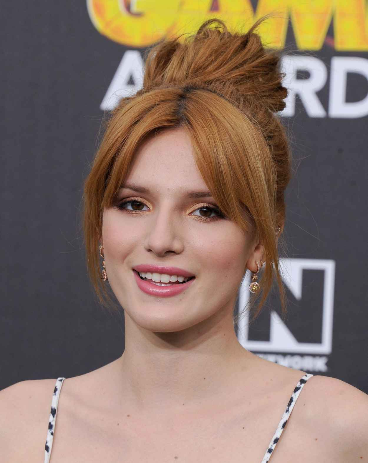 Bella Thorne - 4th Annual Hall of Game Awards in Santa Monica - February 2015-2