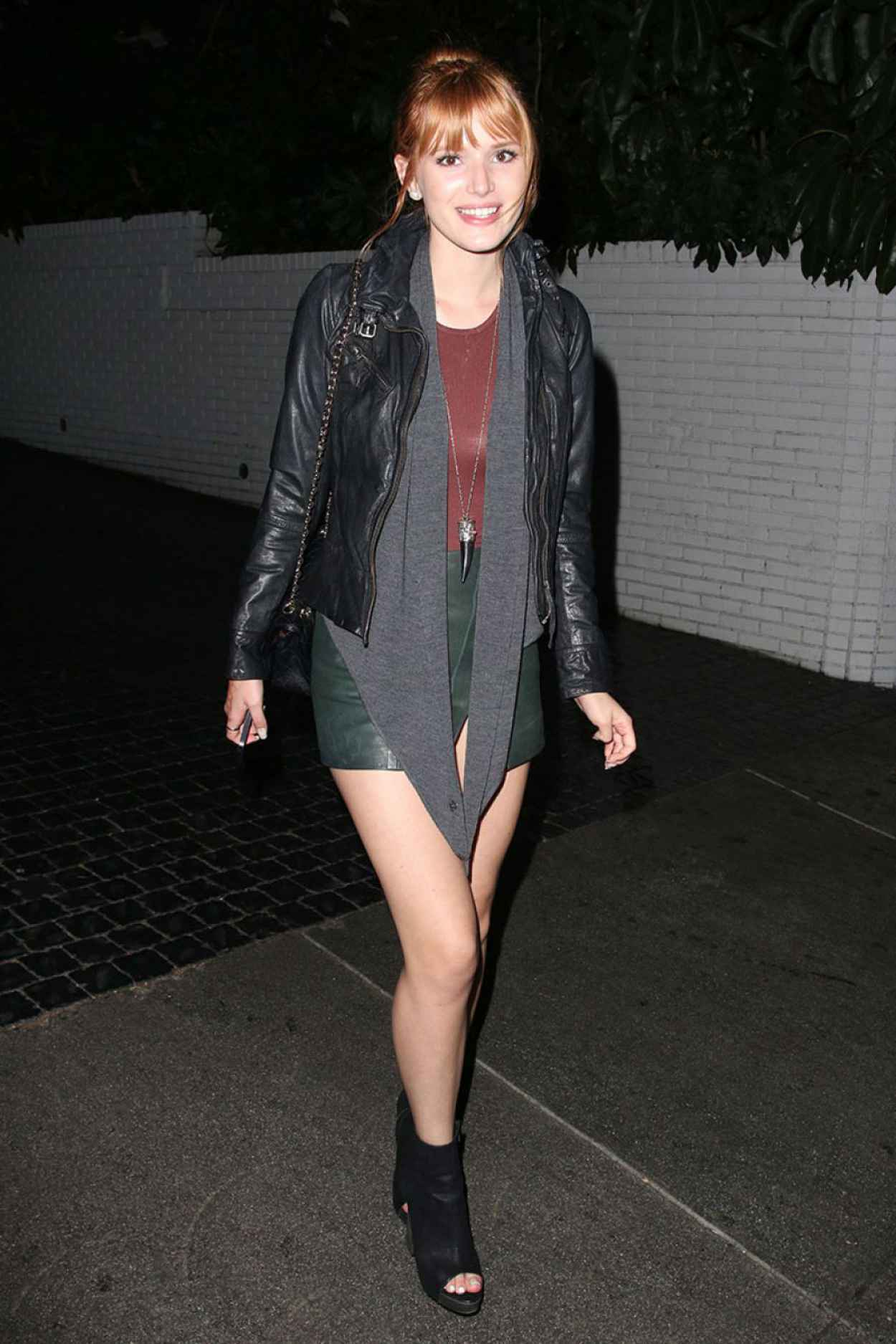 Bella Thorne Attends the Chateau Marmont in West Hollywood-2