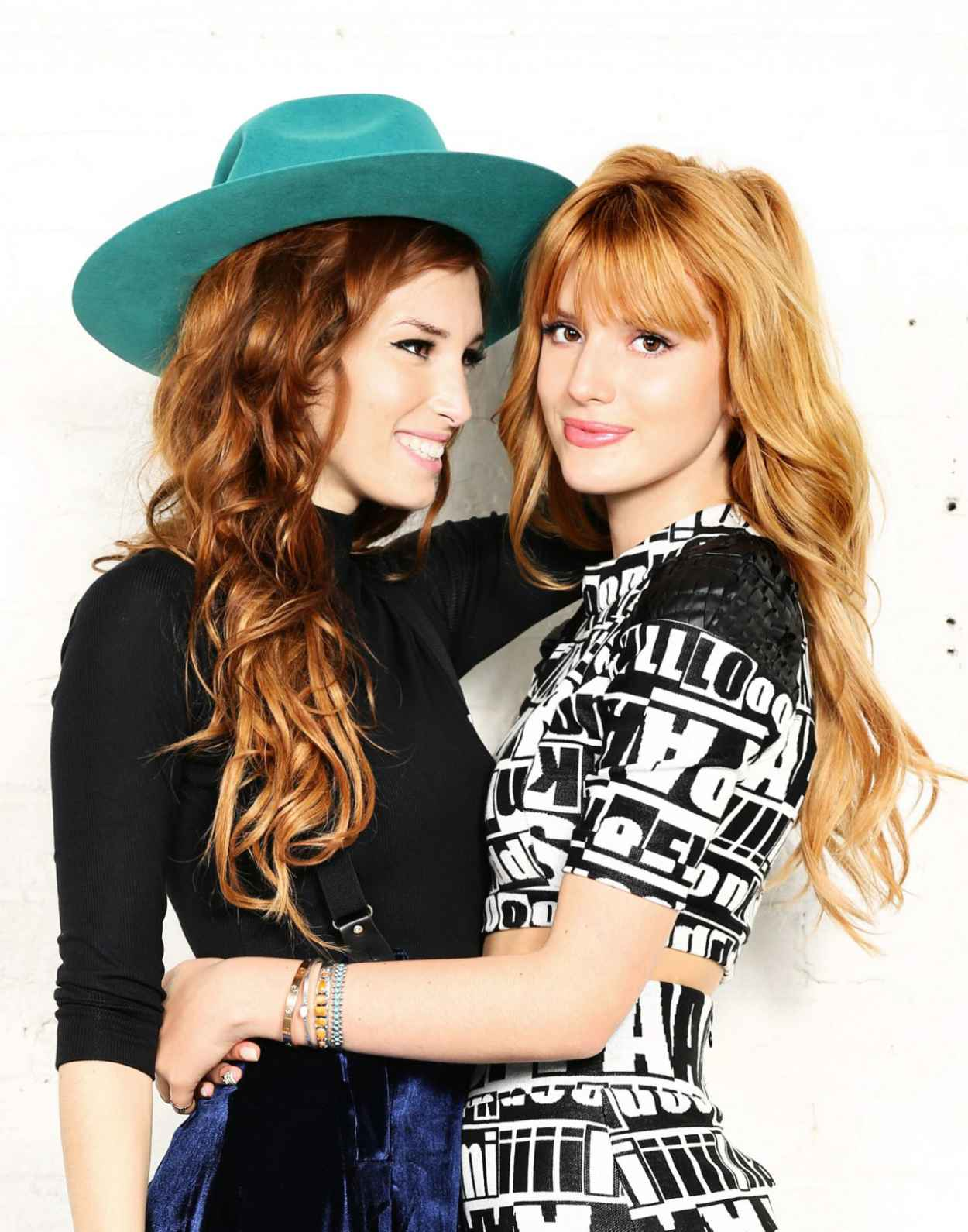 Bella Thorne & Dani Thorne - Meeting for Sherri Hill Collection in Hollywood - December 2015-1