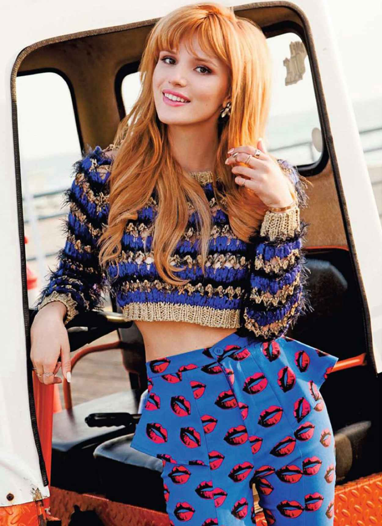 Bella Thorne Photoshoot for SEVENTEEN Magazine (Mexico) - January 2015 Issue-1