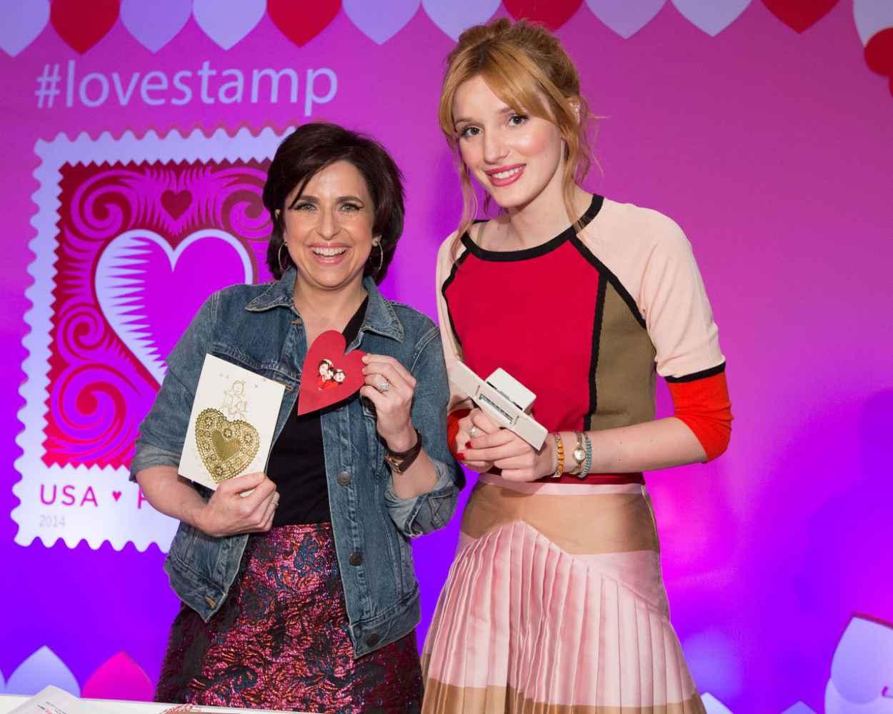 Bella Thorne - United States Postal Service Love Stamp 2015 - January 2015-1