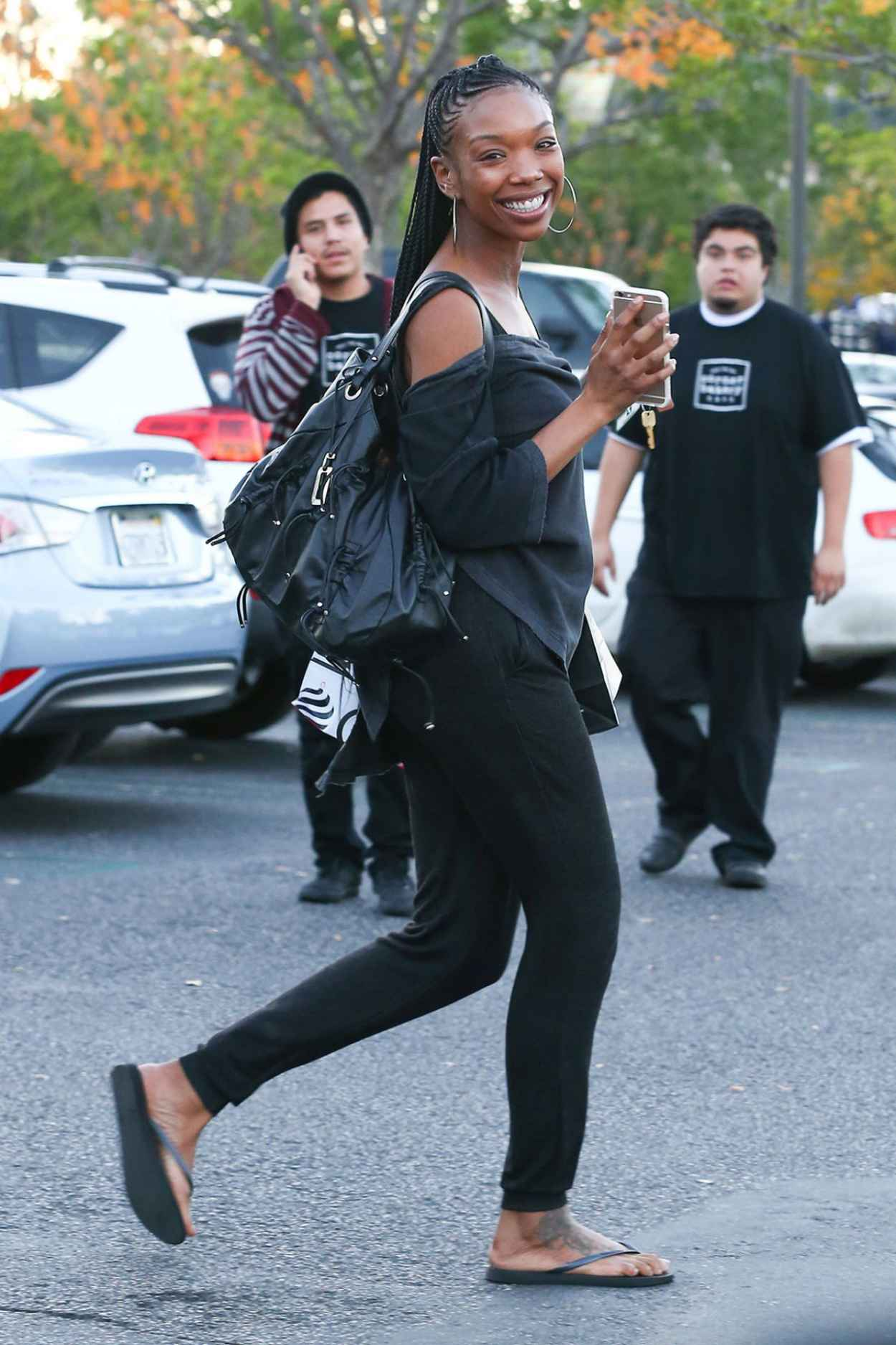 Brandy Norwood - Out Shopping in Los Angeles - December 2015-4