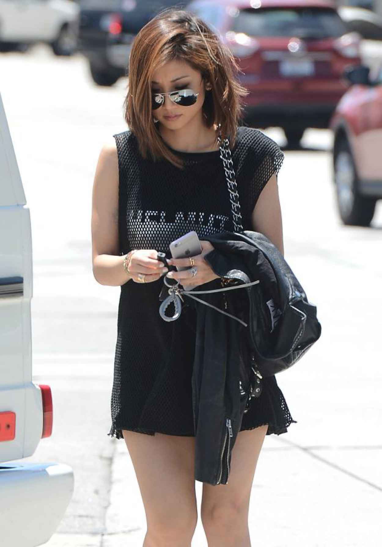 Brenda Song Casual Style - Out in Hollywood, June 2015-1