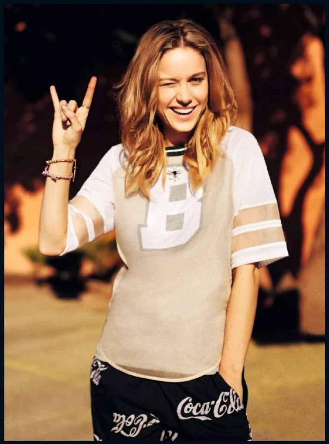 Brie Larson - ASOS Magazine - February 2015 Issue-1