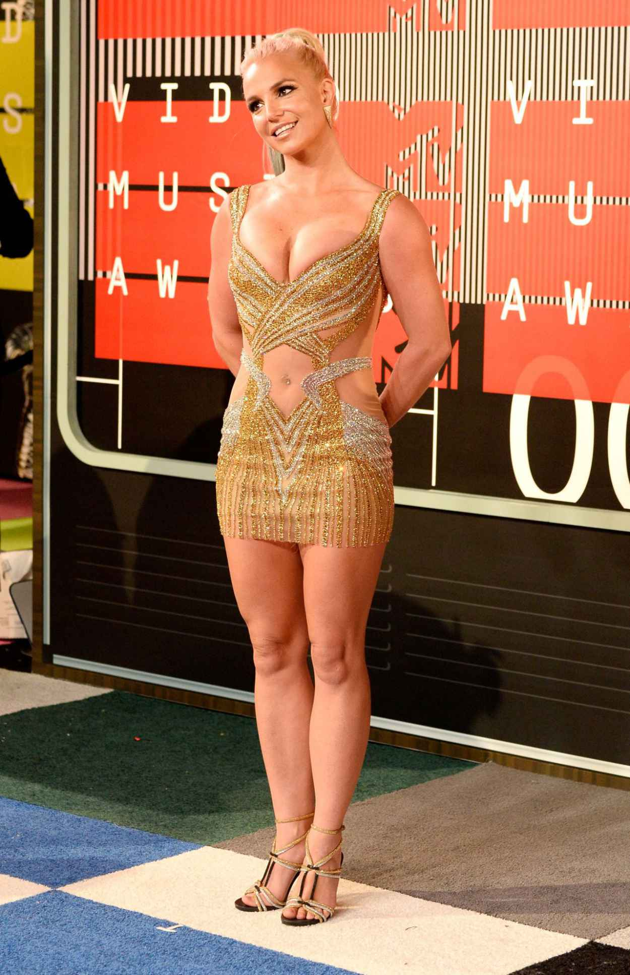 Britney Spears - 2015 MTV Video Music Awards at Microsoft Theater in Los Angeles-2