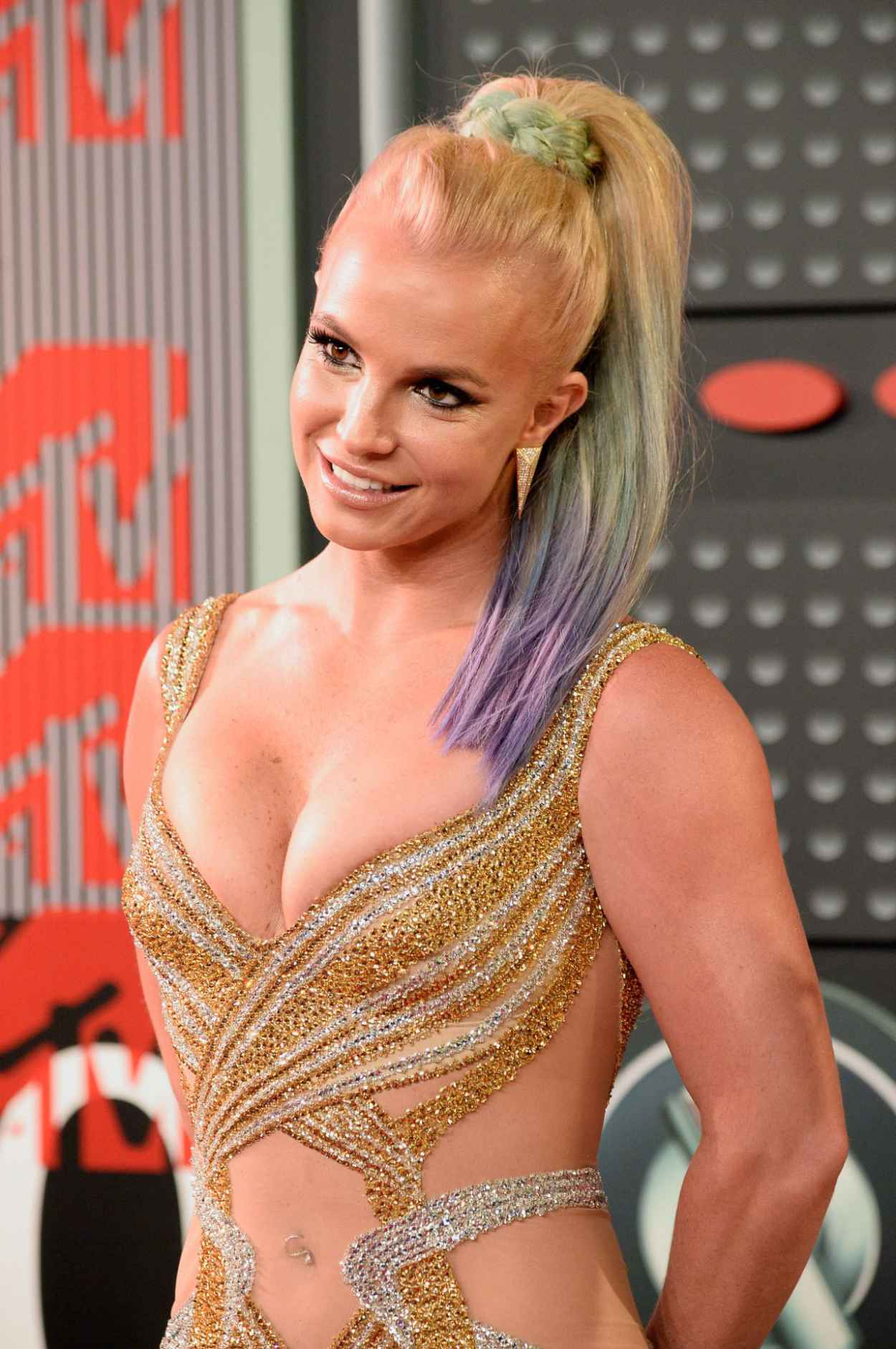 Britney Spears - 2015 MTV Video Music Awards at Microsoft Theater in Los Angeles-3