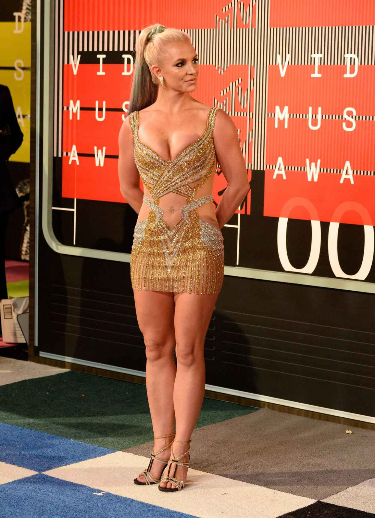 Britney Spears - 2015 MTV Video Music Awards at Microsoft Theater in Los Angeles-4