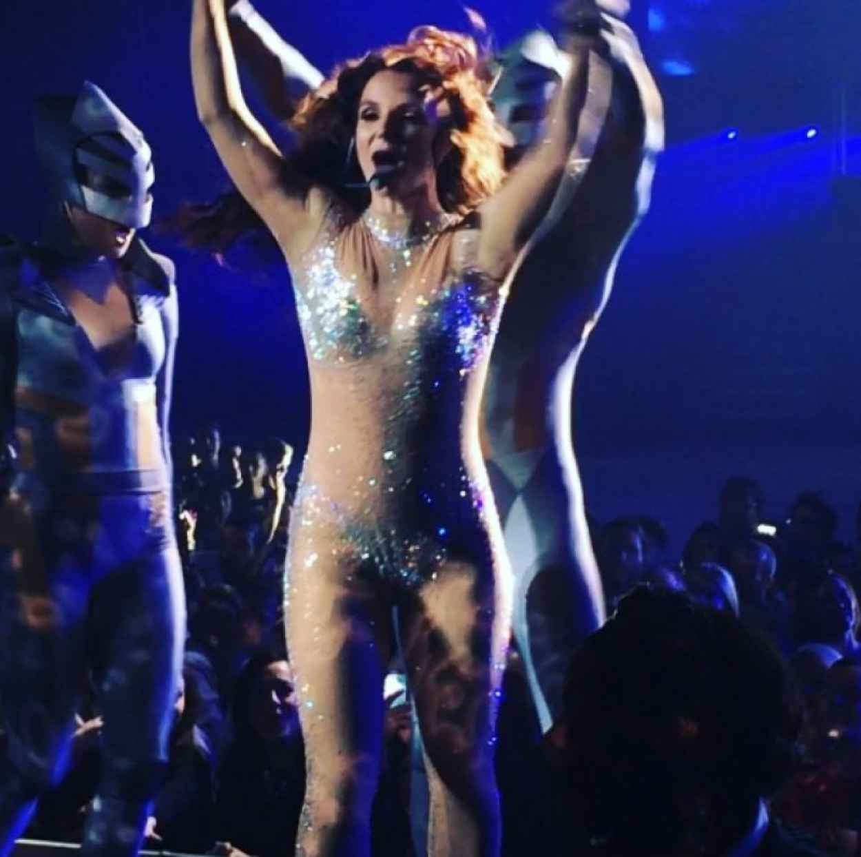 Britney Spears - Photos from Piece Of Me Tour - 2015-1