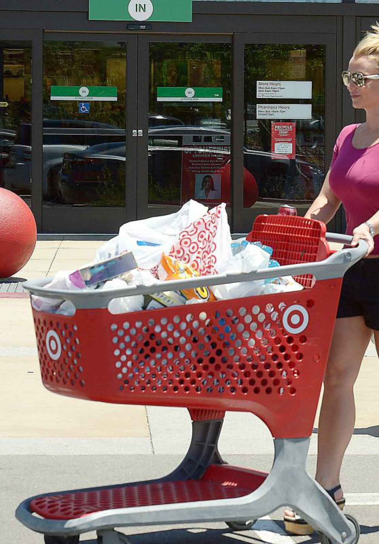 Britney Spears - Shopping at Target in Thousand Oaks, July 2015-1