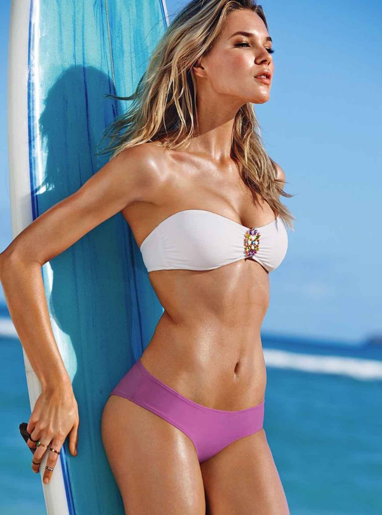Britt Maren - Photoshoot for Victorias Secret - January 2015-1