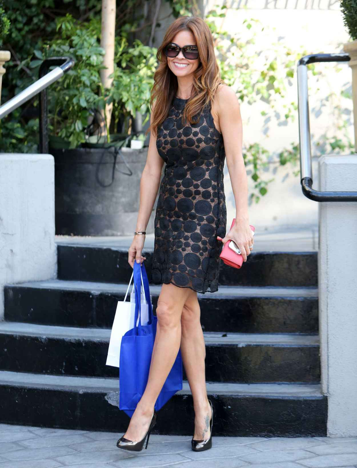 Brooke Burke - Dior Party on Sunset Tower Hotel - Jan. 2015-1