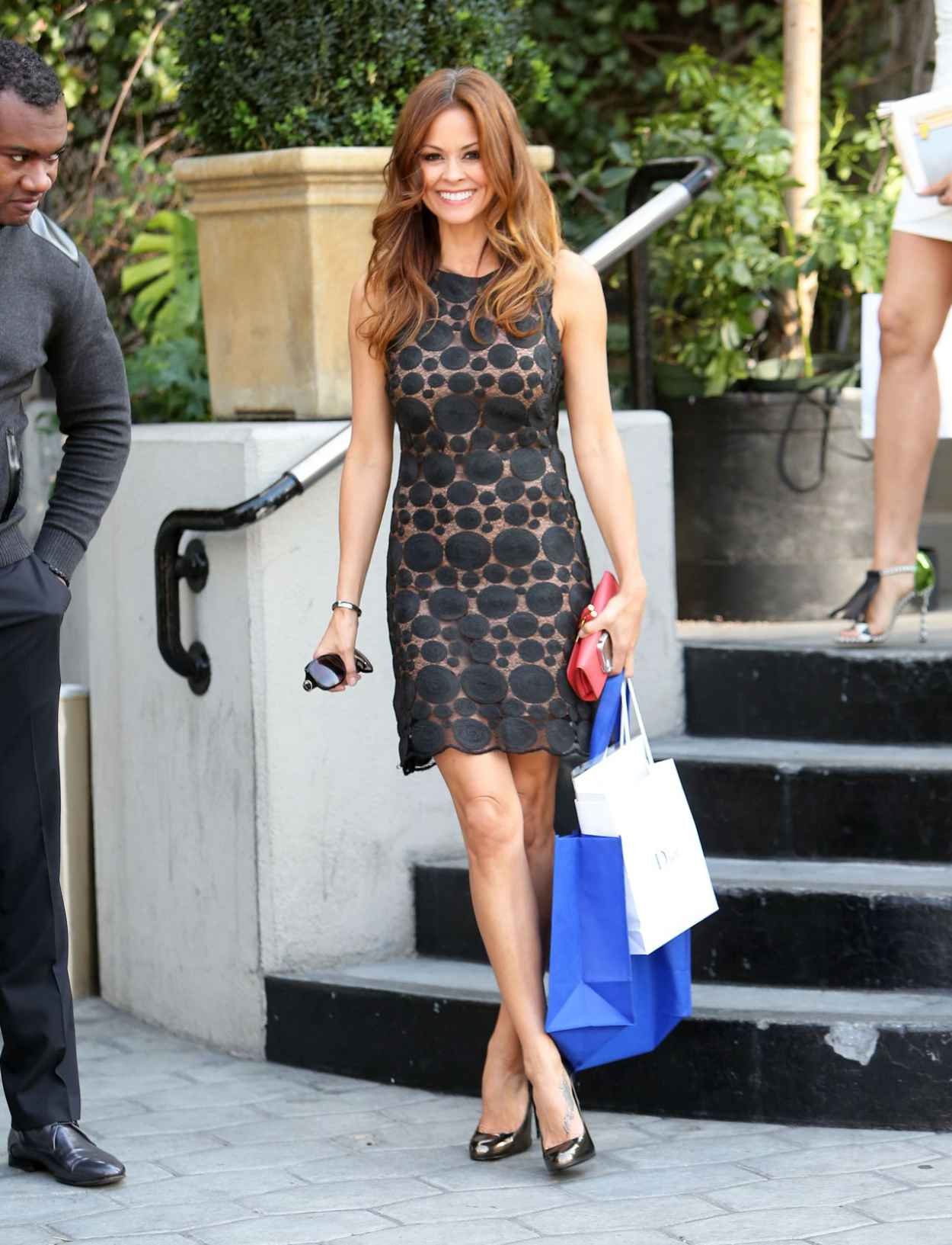 Brooke Burke - Dior Party on Sunset Tower Hotel - Jan. 2015-5