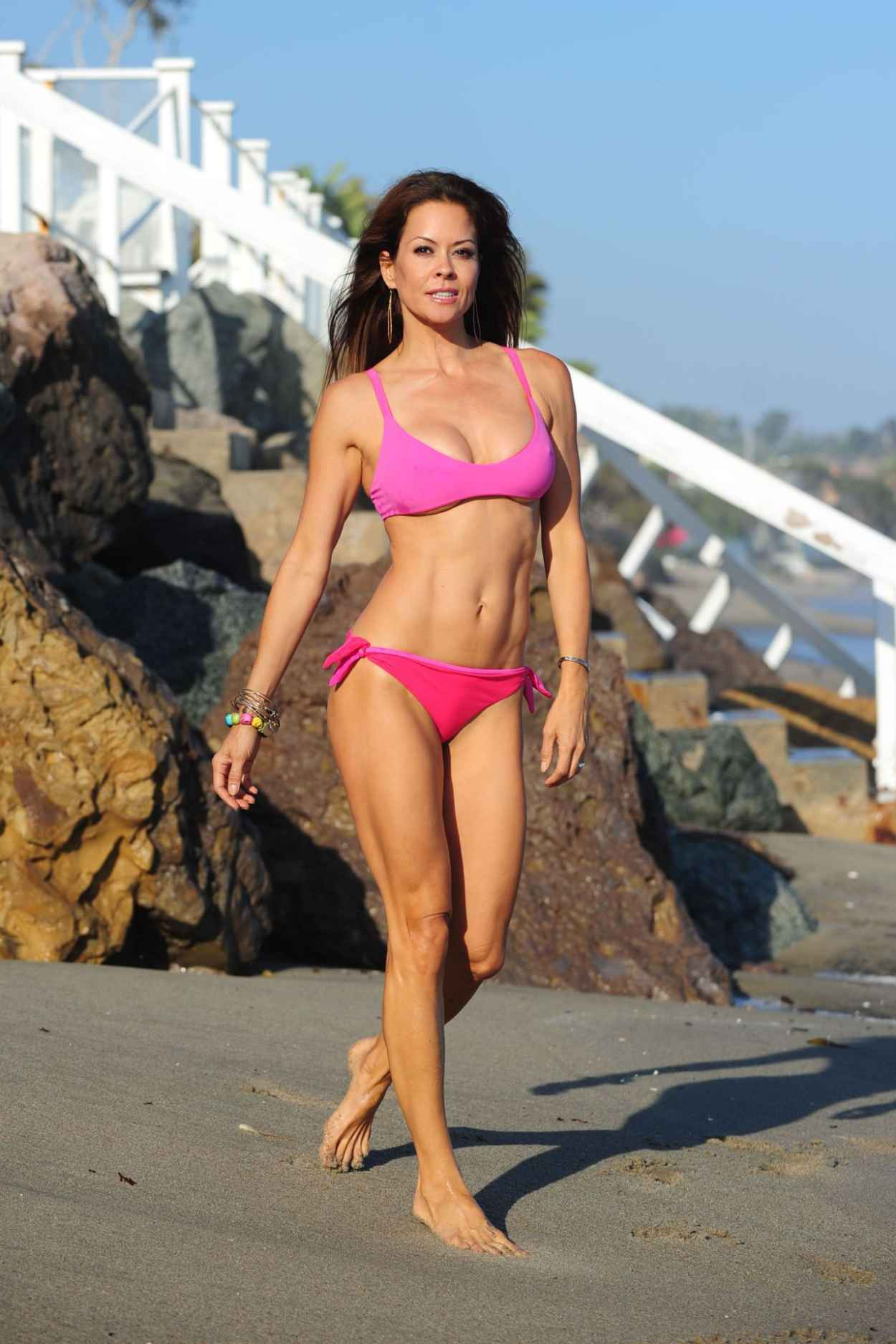 Brooke Burke Hot in a Bikini in Malibu - July 2015-1