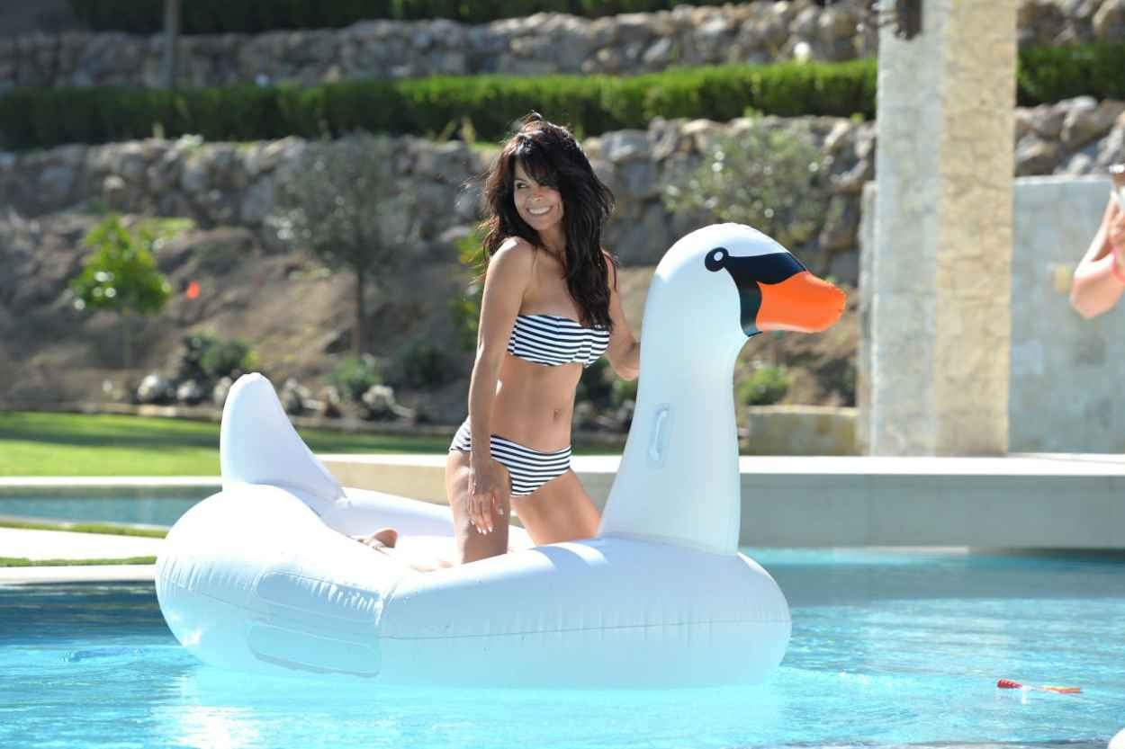Brooke Burke in a Bikini at Her House in Malibu, July 2015-4