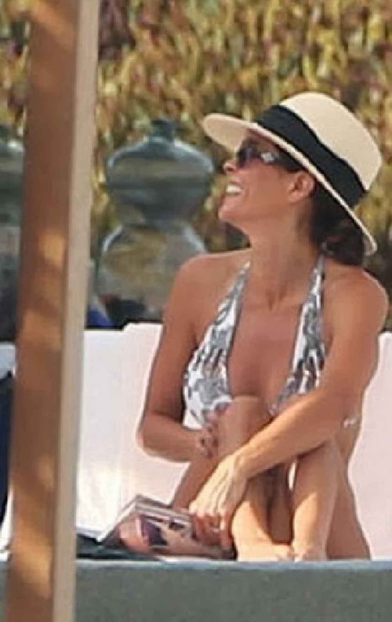 Brooke Burke in a Bikini in Mexico-1