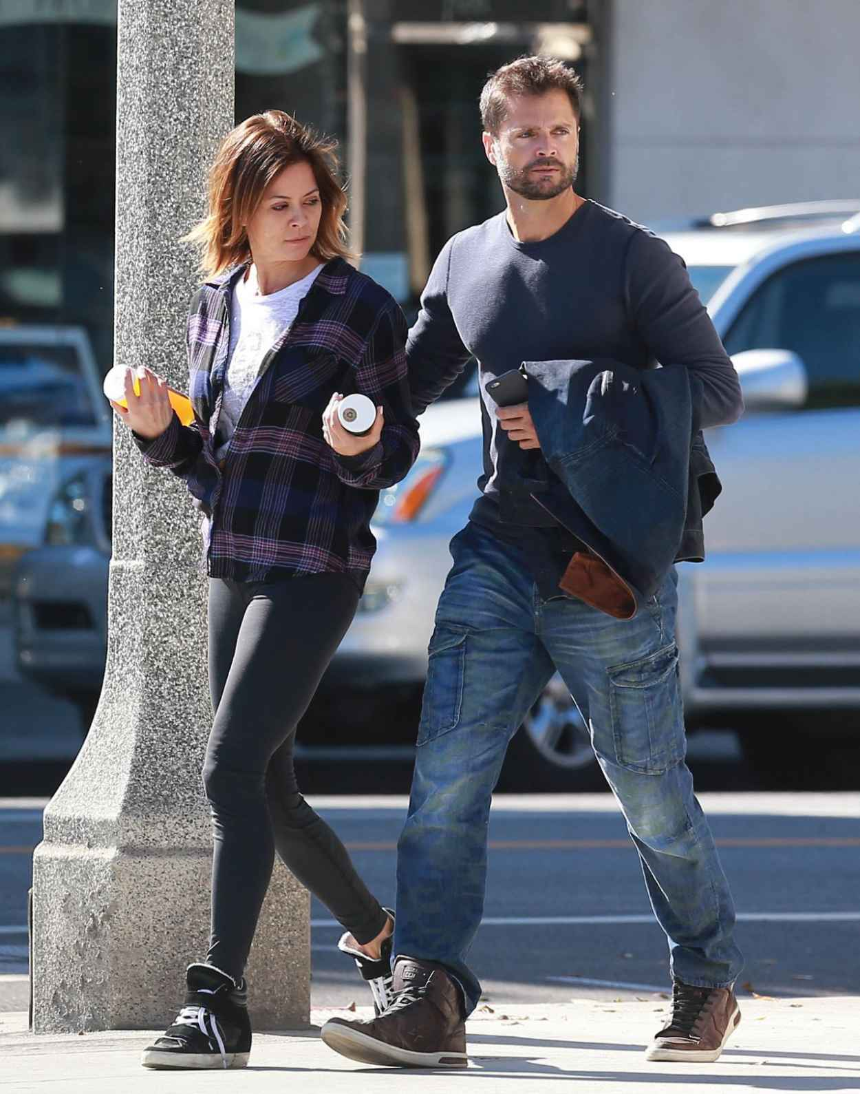 Brooke Burke - Out in Los Angeles, March 2015-5