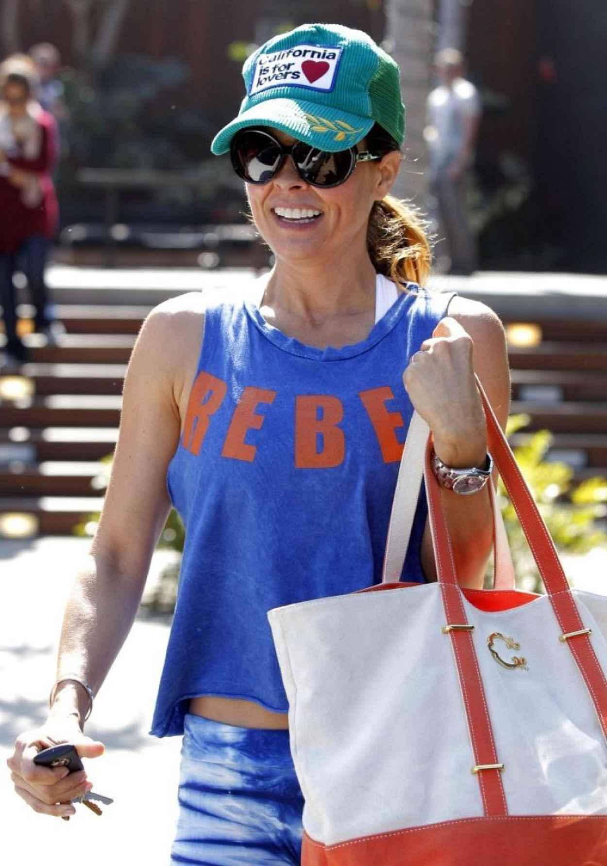 Brooke Burke Street Style - Out in Malibu - February 2015-2