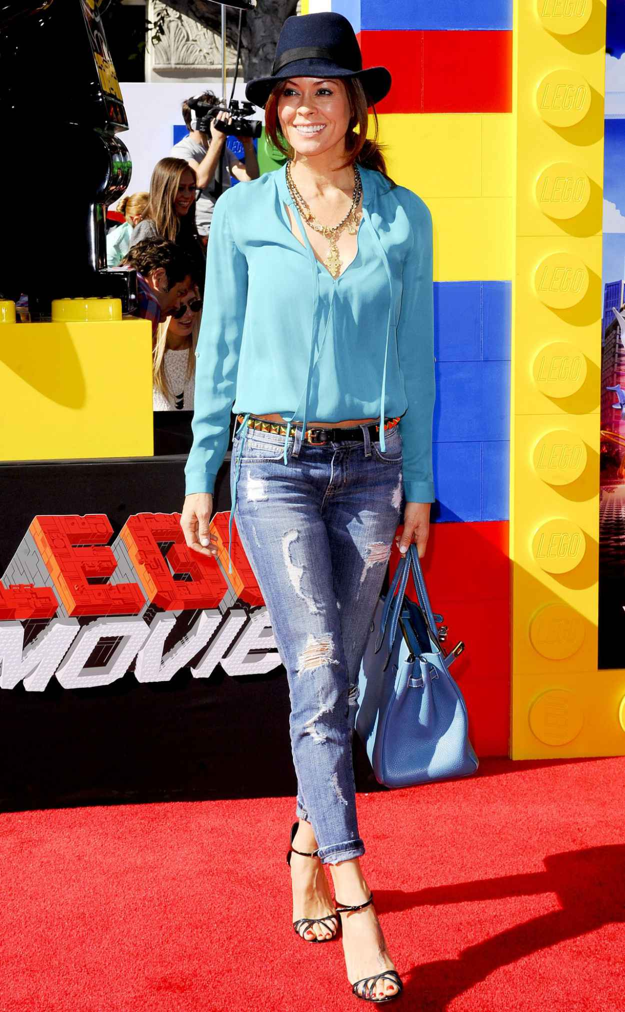 Brooke Burke - THE LEGO MOVIE Premiere in Los Angeles-2
