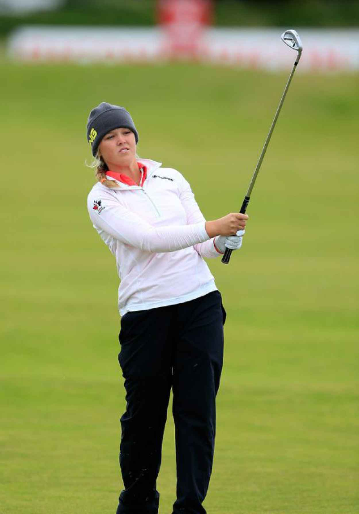 Brooke Henderson - Ricoh Womens British Open in Turnberry, July 2015-1