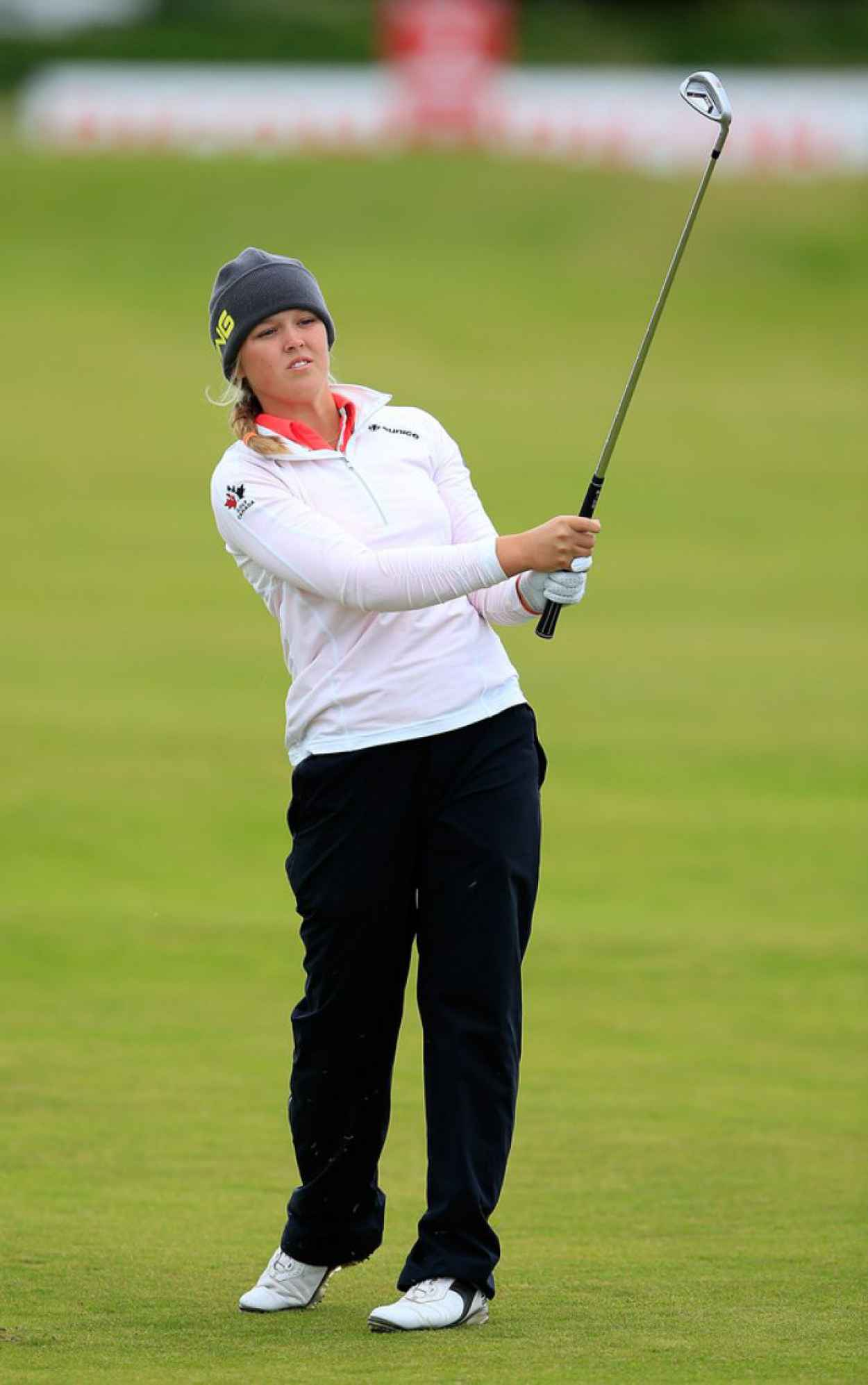Brooke Henderson - Ricoh Womens British Open in Turnberry, July 2015-2