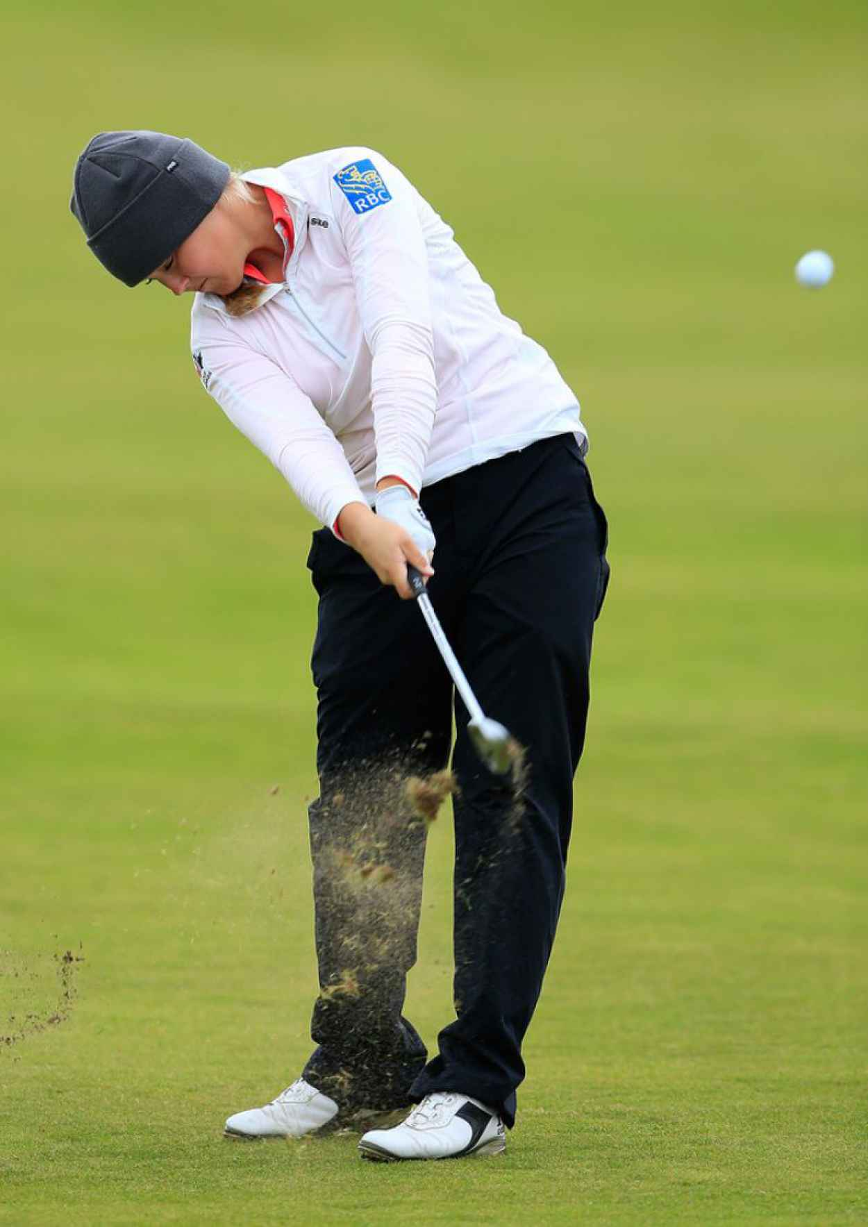 Brooke Henderson - Ricoh Womens British Open in Turnberry, July 2015-3