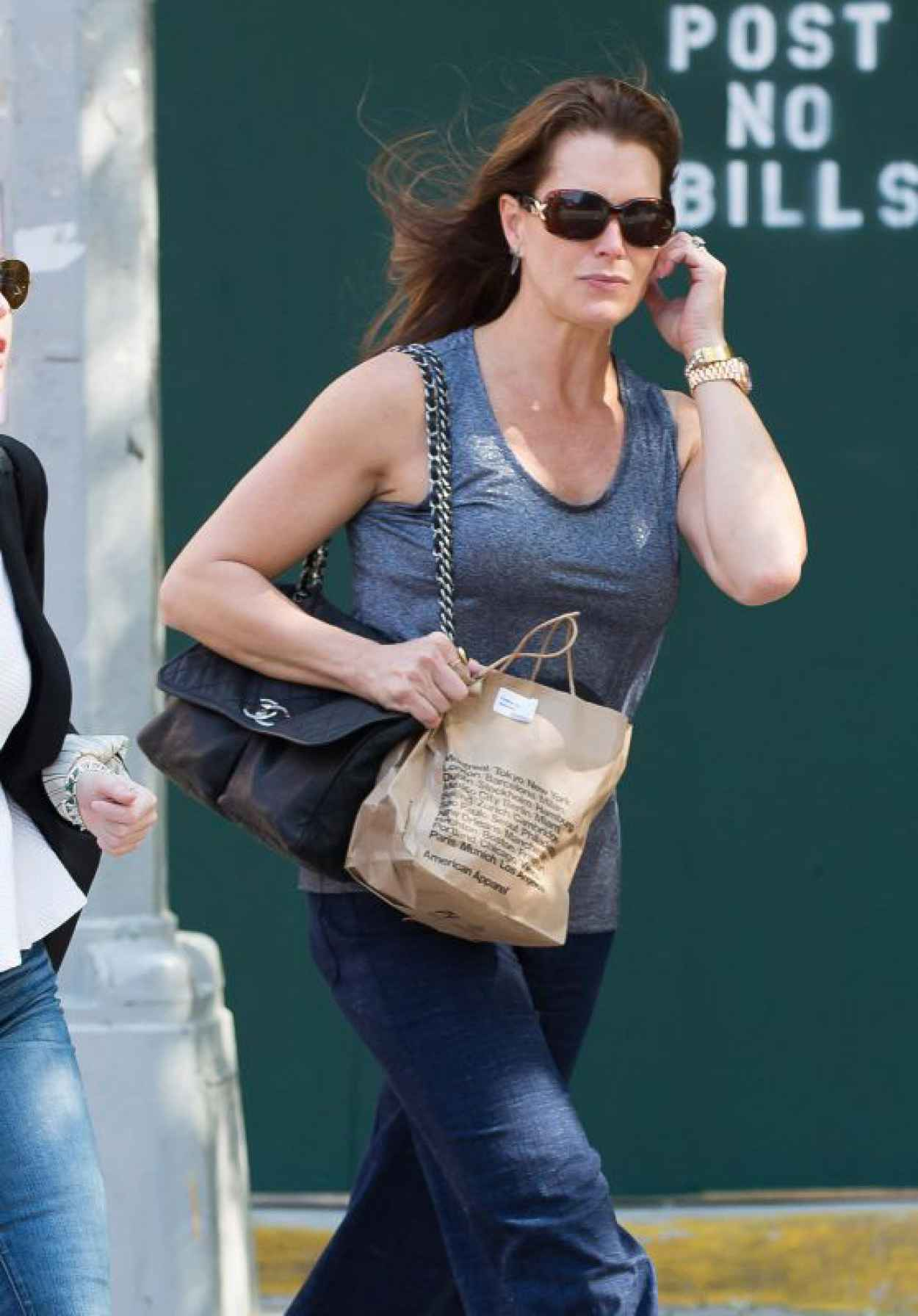 Brooke Shields - Out in New York City, May 2015-1