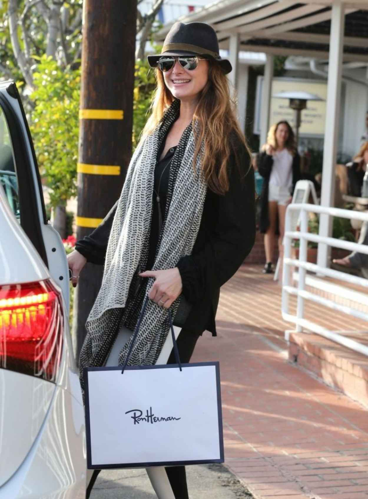 Brooke Shields Street Style - Shops at Fred Segal in West Hollywood, February 2015-1