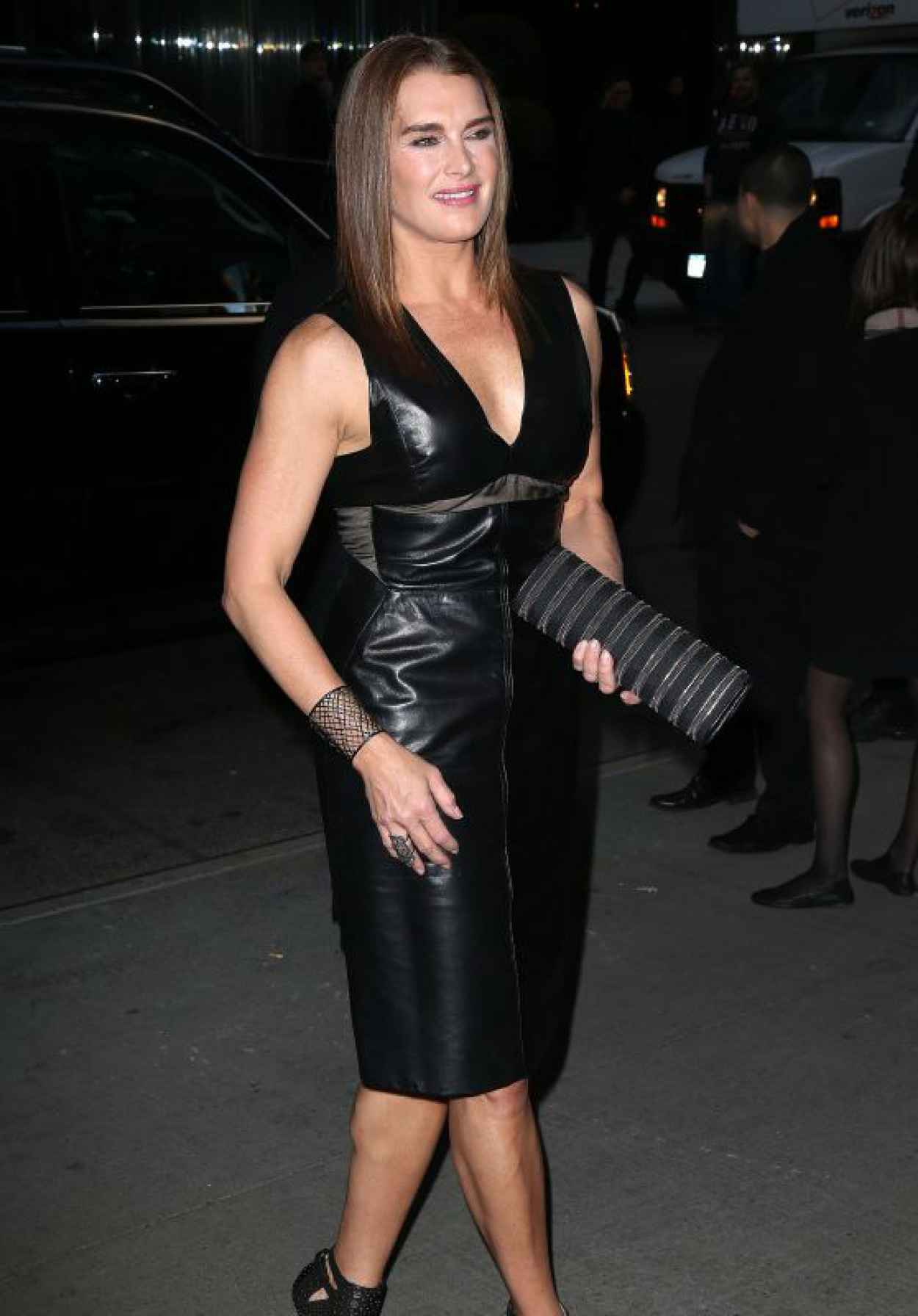 Brooke Shields - Woman In Gold Premiere in New York City-1