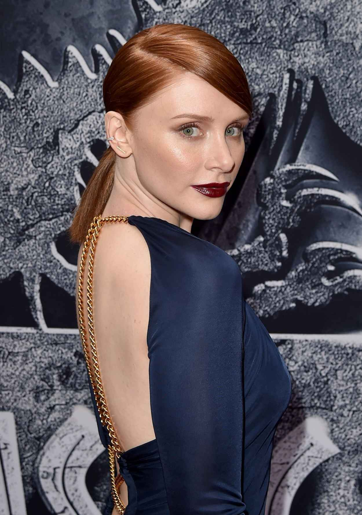 Bryce Dallas Howard - Jurassic World Premiere in Hollywood-3