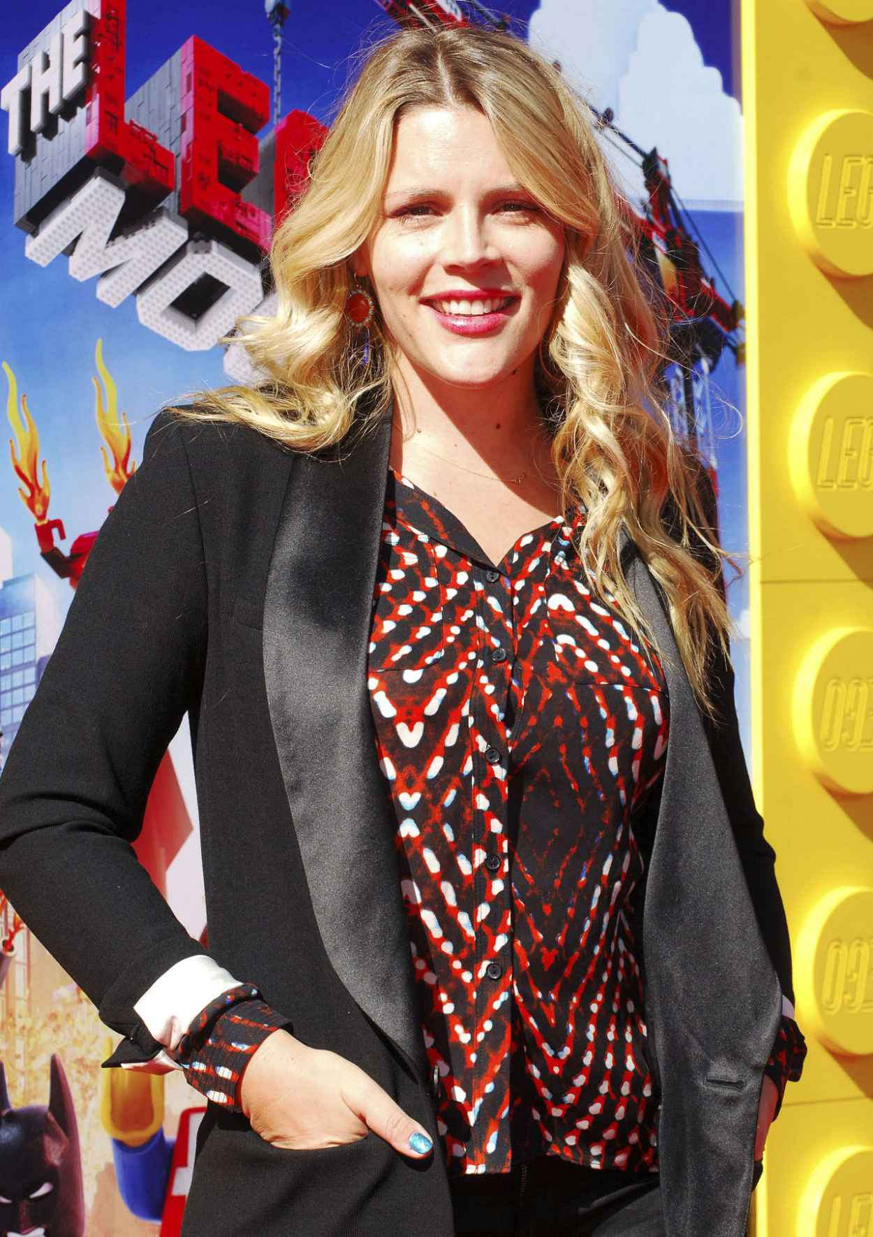 Busy Philips - THE LEGO MOVIE Premiere in Los Angeles-1