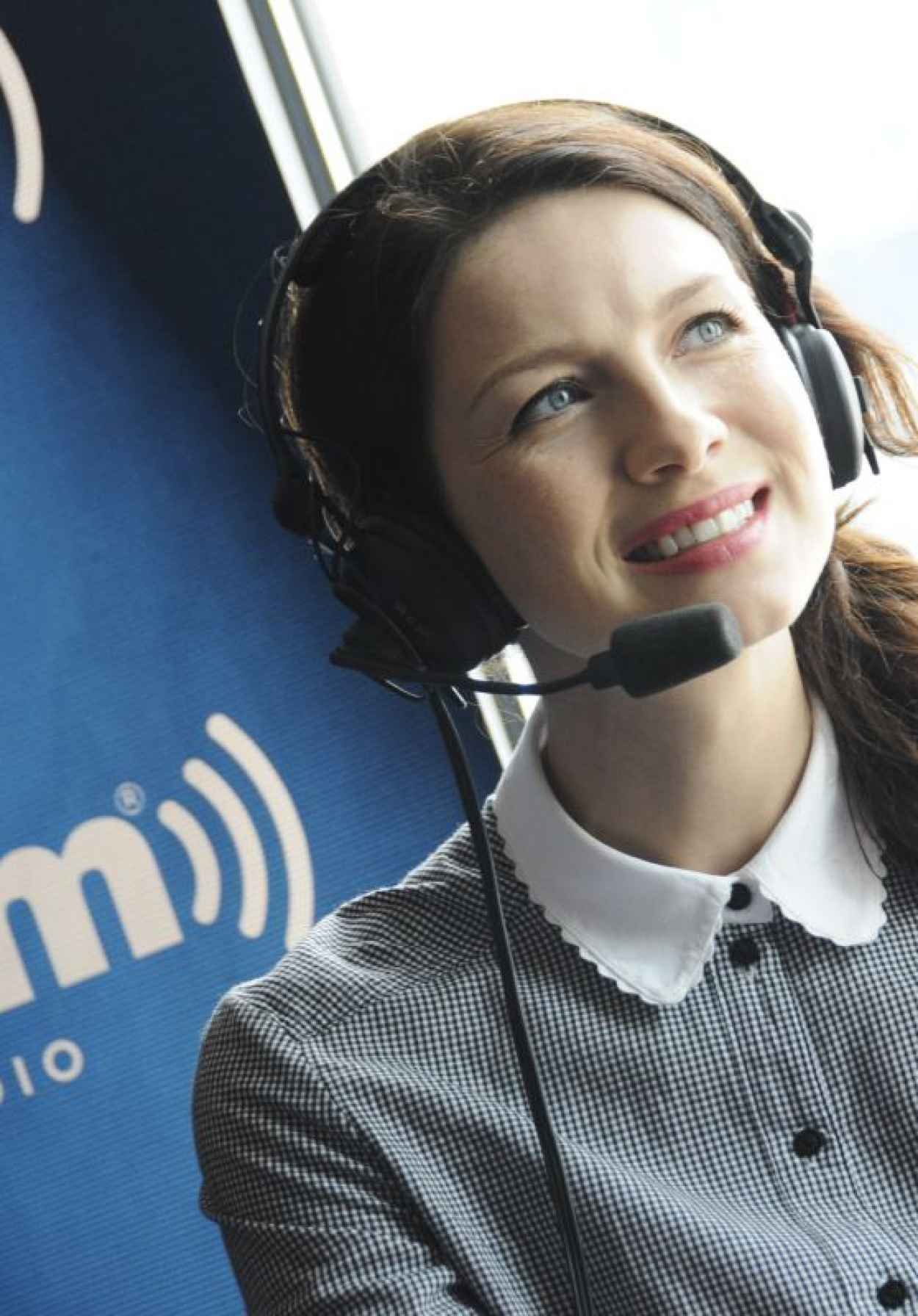 Caitriona Balfe - SiriusXMs Entertainment Weekly Broadcast - 2015 Comic Con in San Diego-1