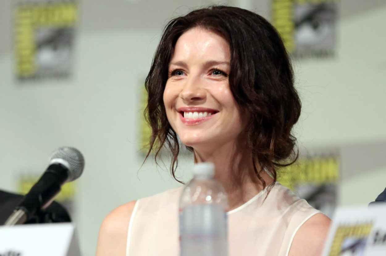 Caitriona Balfe - Starz Outlander Press Panel at 2015 Comic-Con in San Diego-1